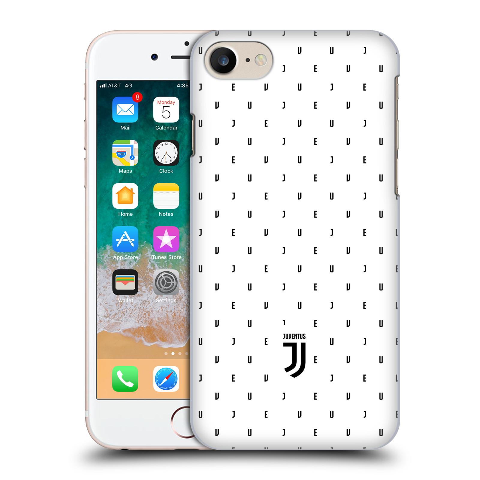 Plastové pouzdro na mobil Apple iPhone 7 - Head Case - Juventus FC - Nové logo - Decentní