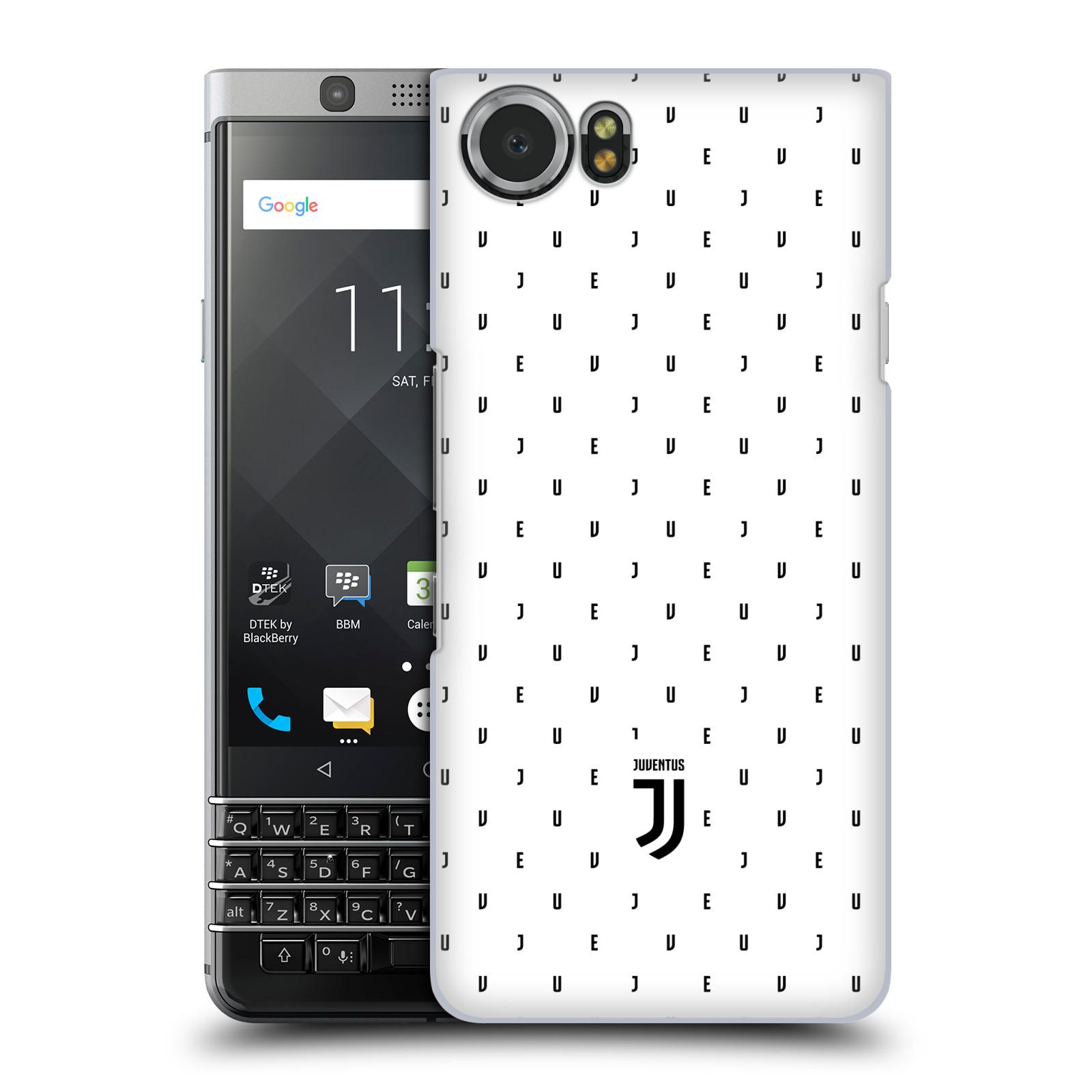 Plastové pouzdro na mobil BlackBerry KEYone - Head Case - Juventus FC - Nové logo - Decentní