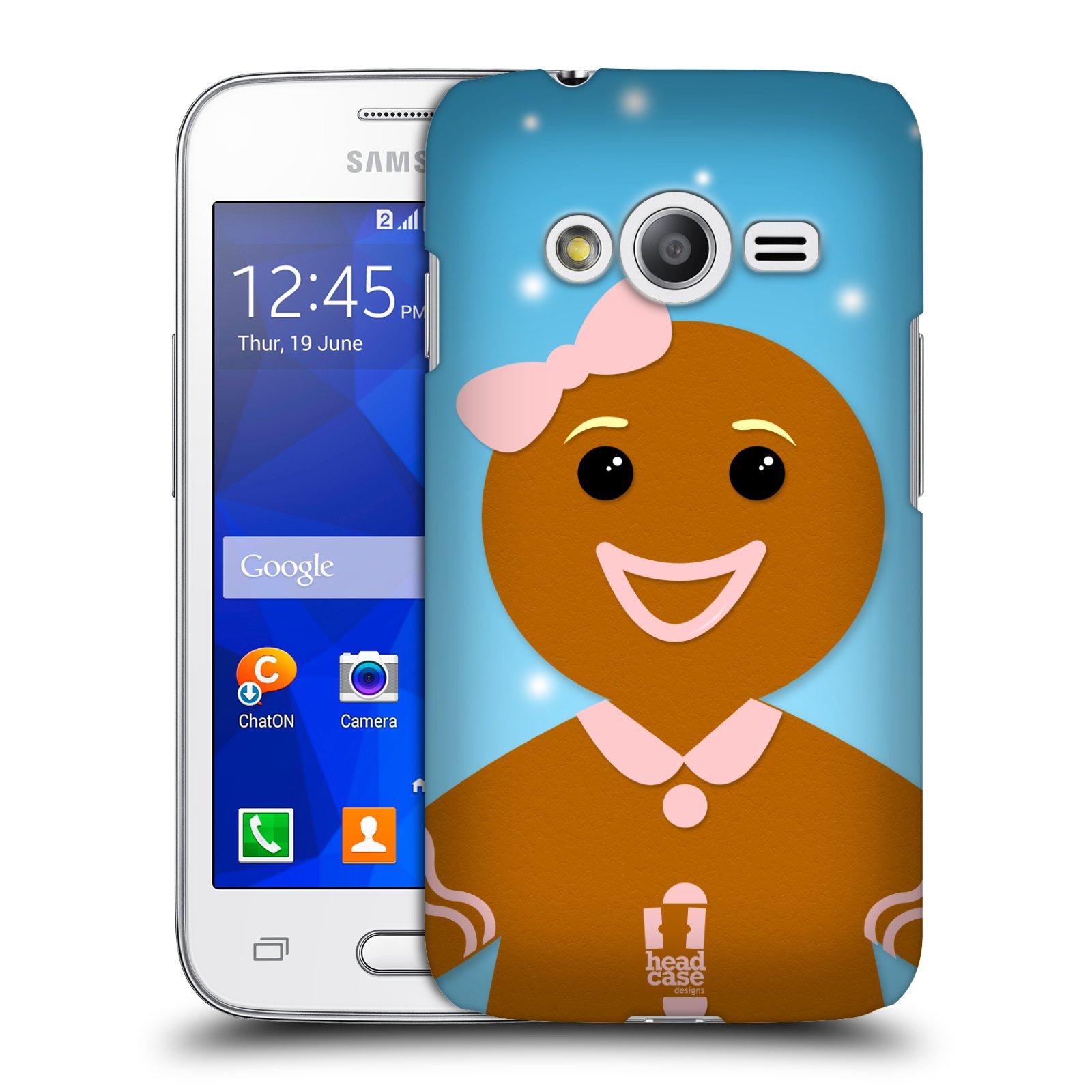 Plastové pouzdro na mobil Samsung Galaxy Trend 2 Lite HEAD CASE VÁNOCE PERNÍČEK (Kryt či obal na mobilní telefon Samsung Galaxy Trend 2 Lite SM-G318)