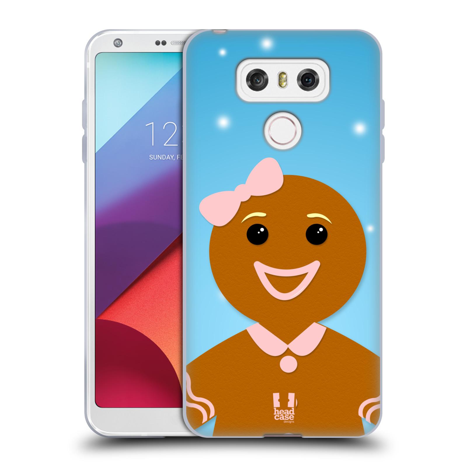 Silikonové pouzdro na mobil LG G6 - Head Case VÁNOCE PERNÍČEK (Silikonový kryt či obal na mobilní telefon LG G6 H870 / LG G6 Dual SIM H870DS)