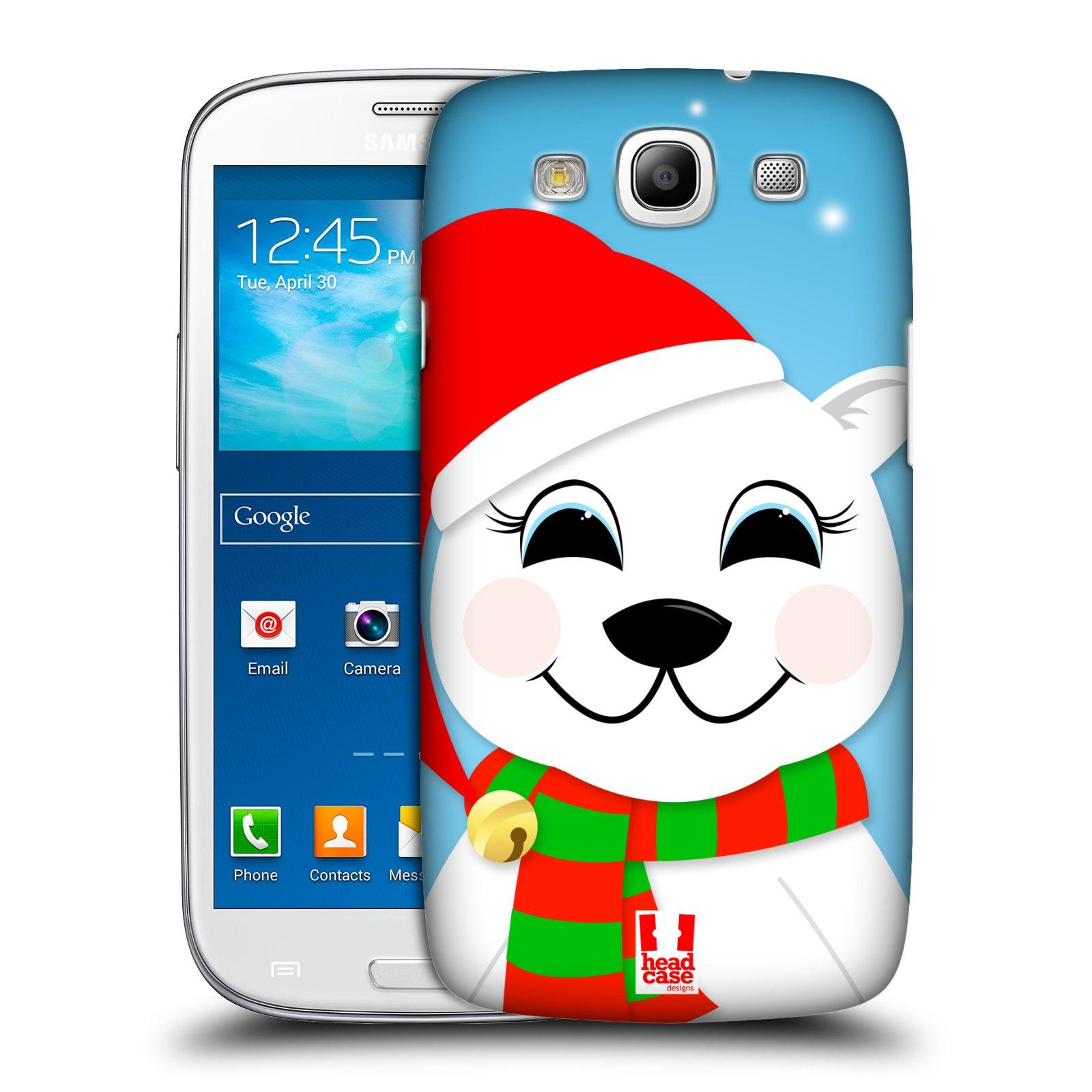 Plastové pouzdro na mobil Samsung Galaxy S3 Neo HEAD CASE VÁNOCE POLÁRNÍ MÉĎA
