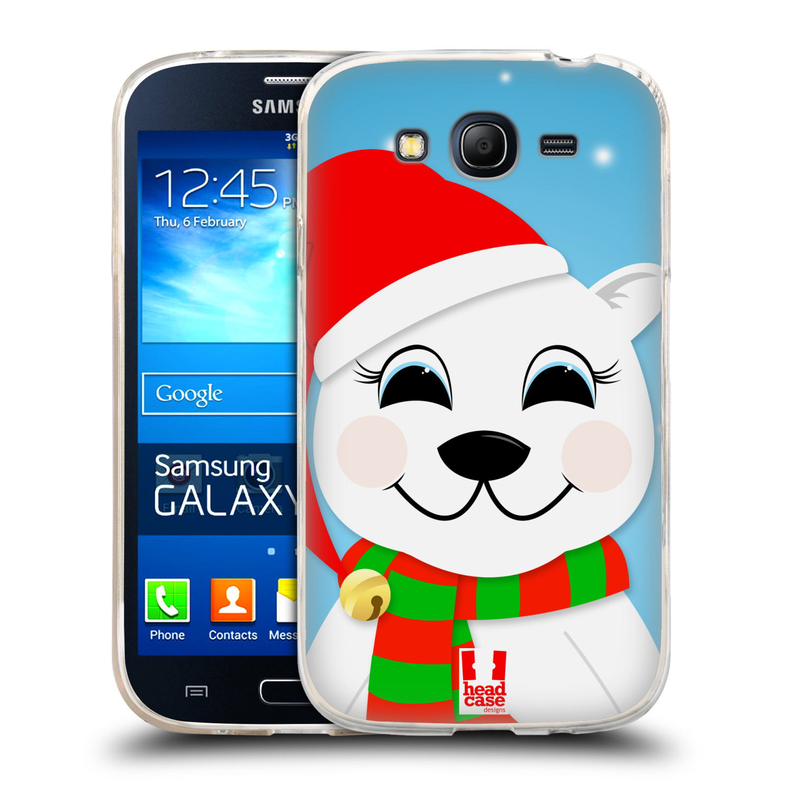 Silikonové pouzdro na mobil Samsung Galaxy Grand Neo HEAD CASE VÁNOCE POLÁRNÍ MÉĎA (Silikonový kryt či obal na mobilní telefon Samsung Galaxy Grand Neo GT-I9060)