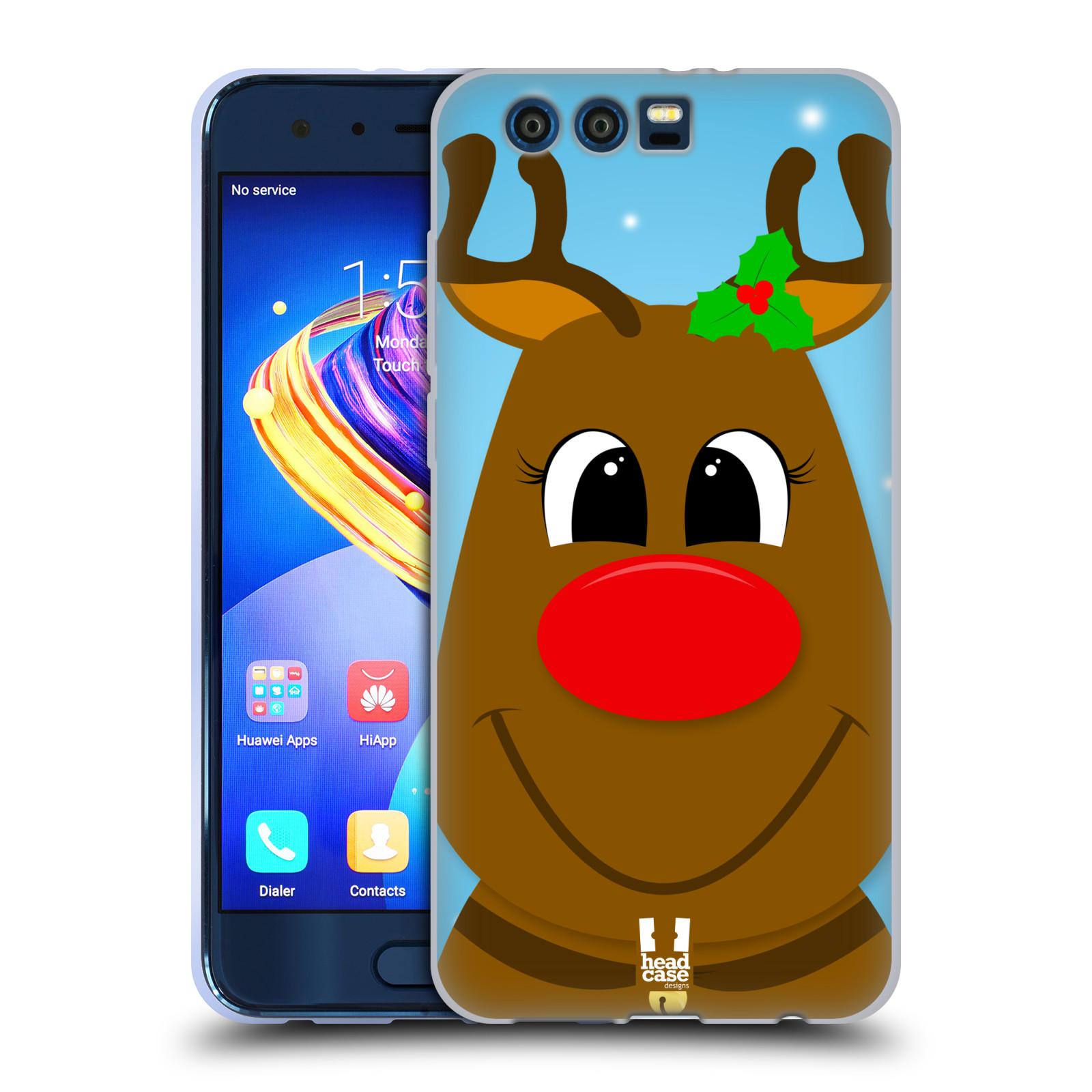 Silikonové pouzdro na mobil Honor 9 - Head Case - VÁNOCE RUDOLF SOB (Silikonový kryt či obal na mobilní telefon Honor 9 s motivem VÁNOCE RUDOLF SOB)
