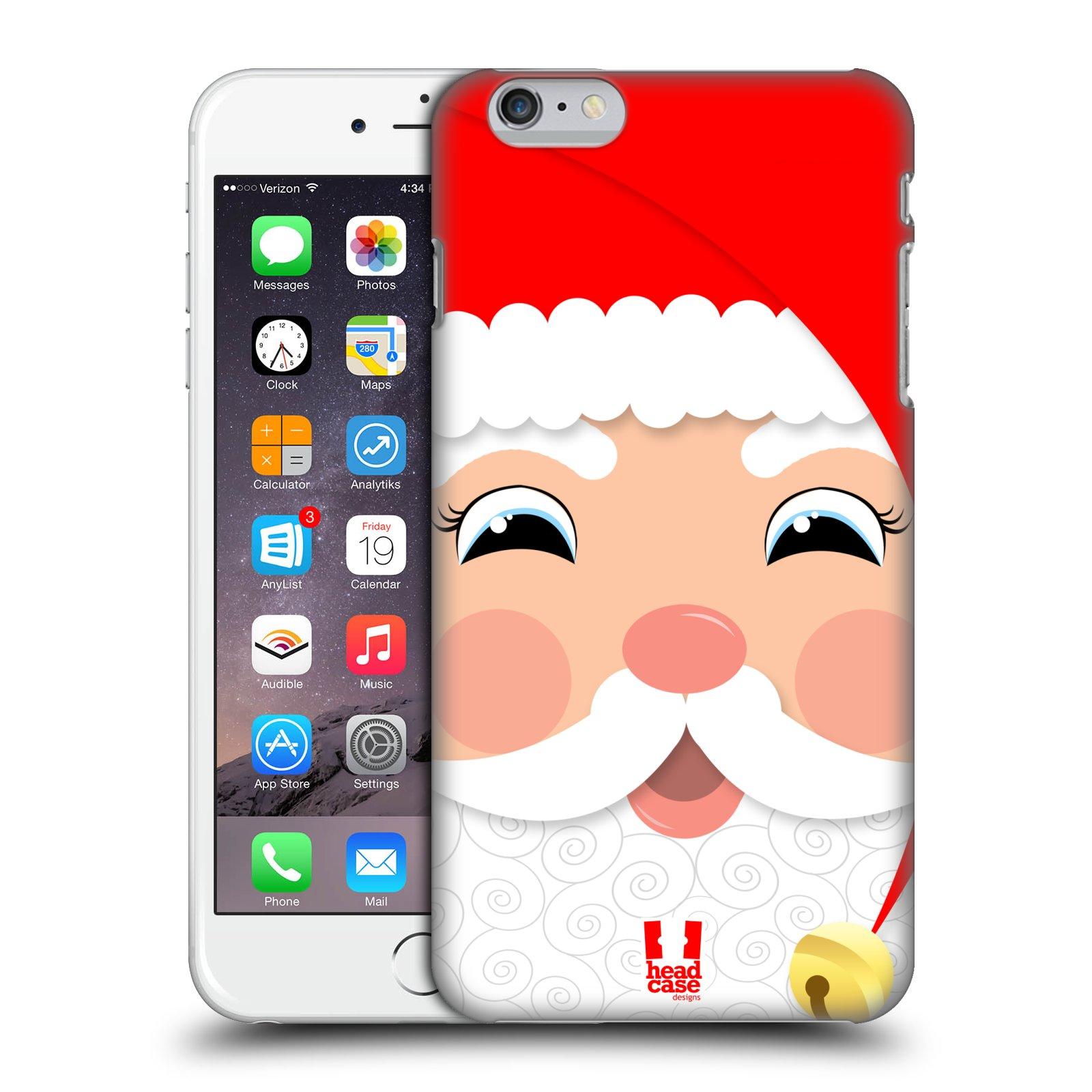 Plastové pouzdro na mobil Apple iPhone 6 Plus a 6S Plus HEAD CASE VÁNOCE SANTA (Kryt či obal na mobilní telefon Apple iPhone 6 Plus a 6S Plus)