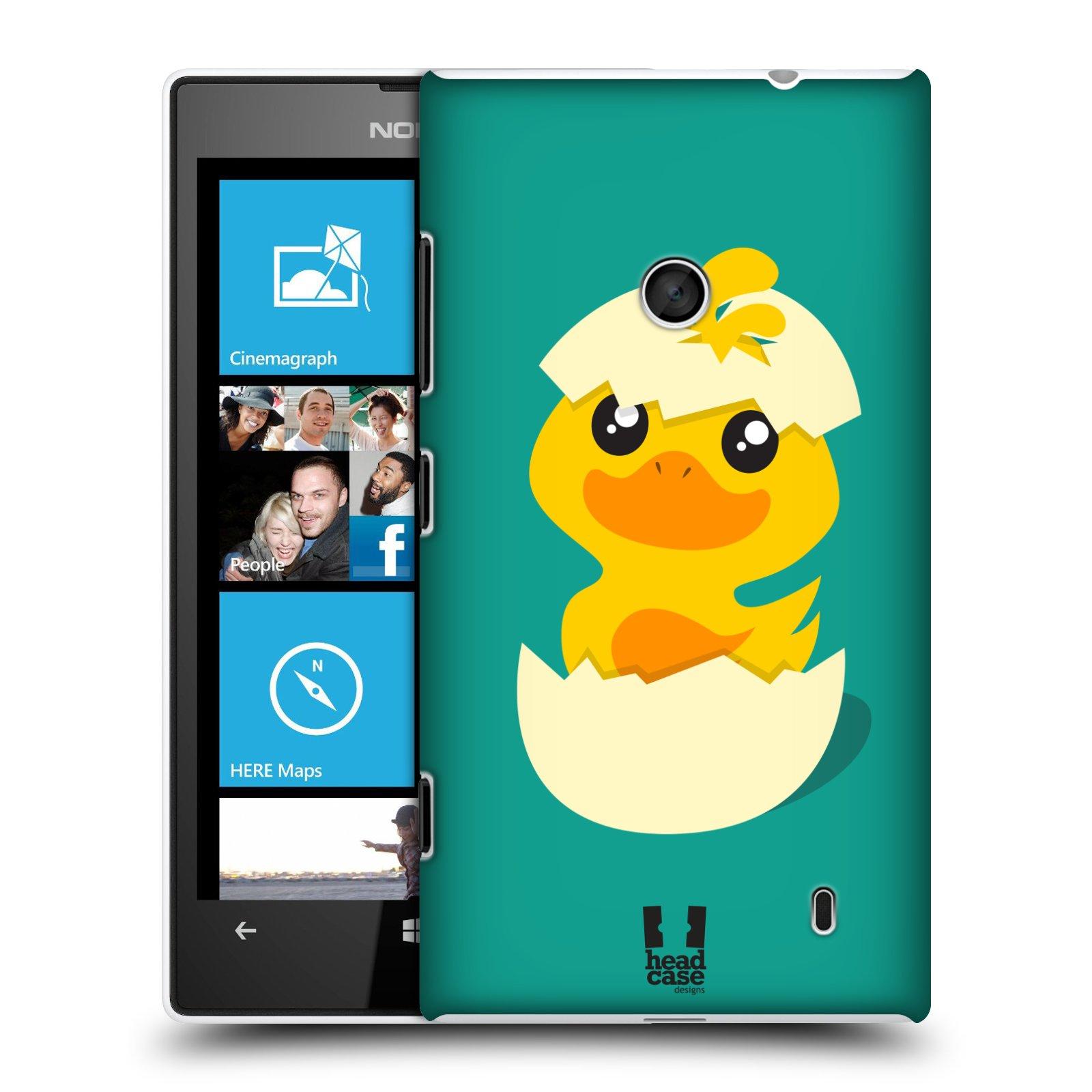 Plastové pouzdro na mobil Nokia Lumia 520 HEAD CASE KACHNIČKA Z VAJÍČKA (Kryt či obal na mobilní telefon Nokia Lumia 520 )
