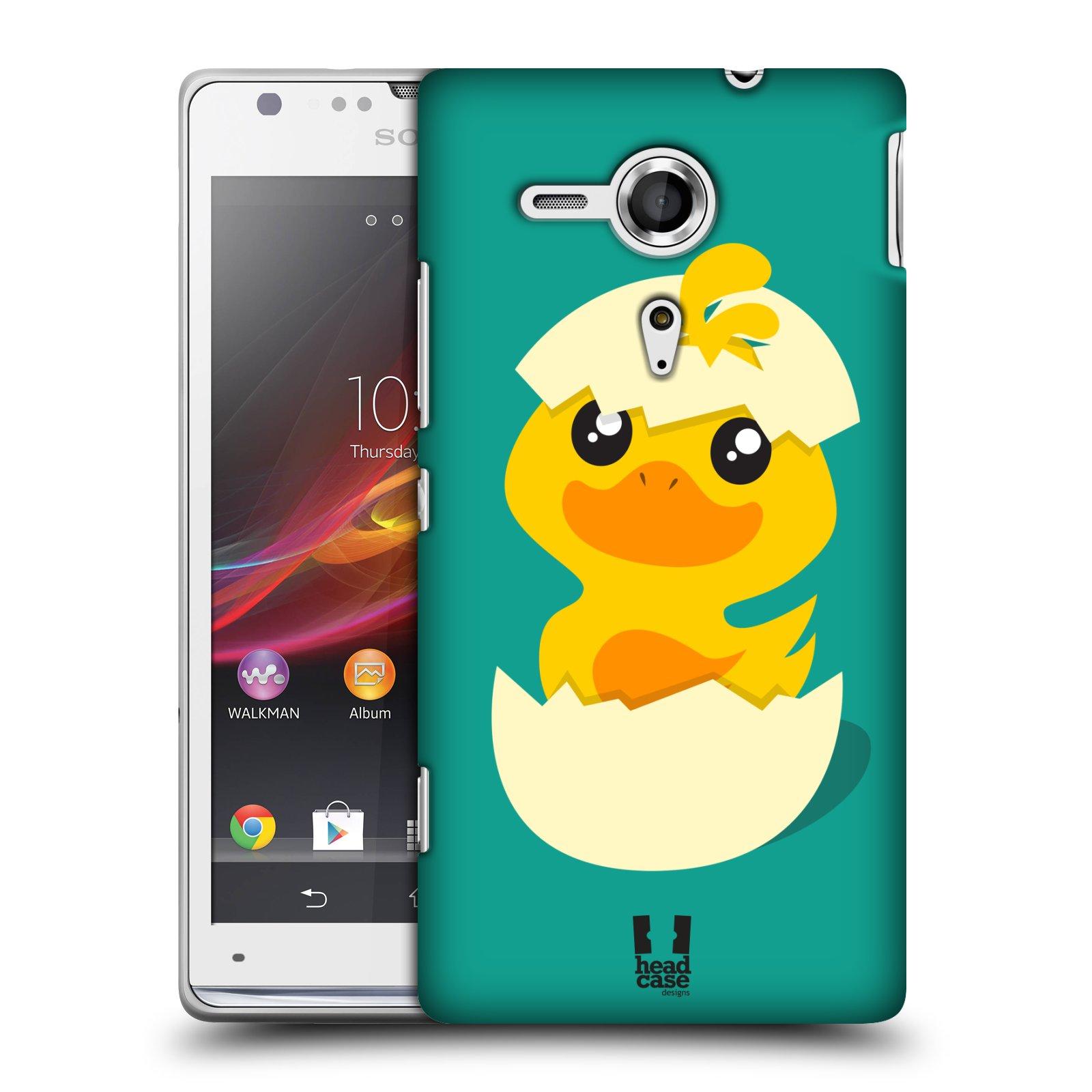 Plastové pouzdro na mobil Sony Xperia SP C5303 HEAD CASE KACHNIČKA Z VAJÍČKA (Kryt či obal na mobilní telefon Sony Xperia SP )