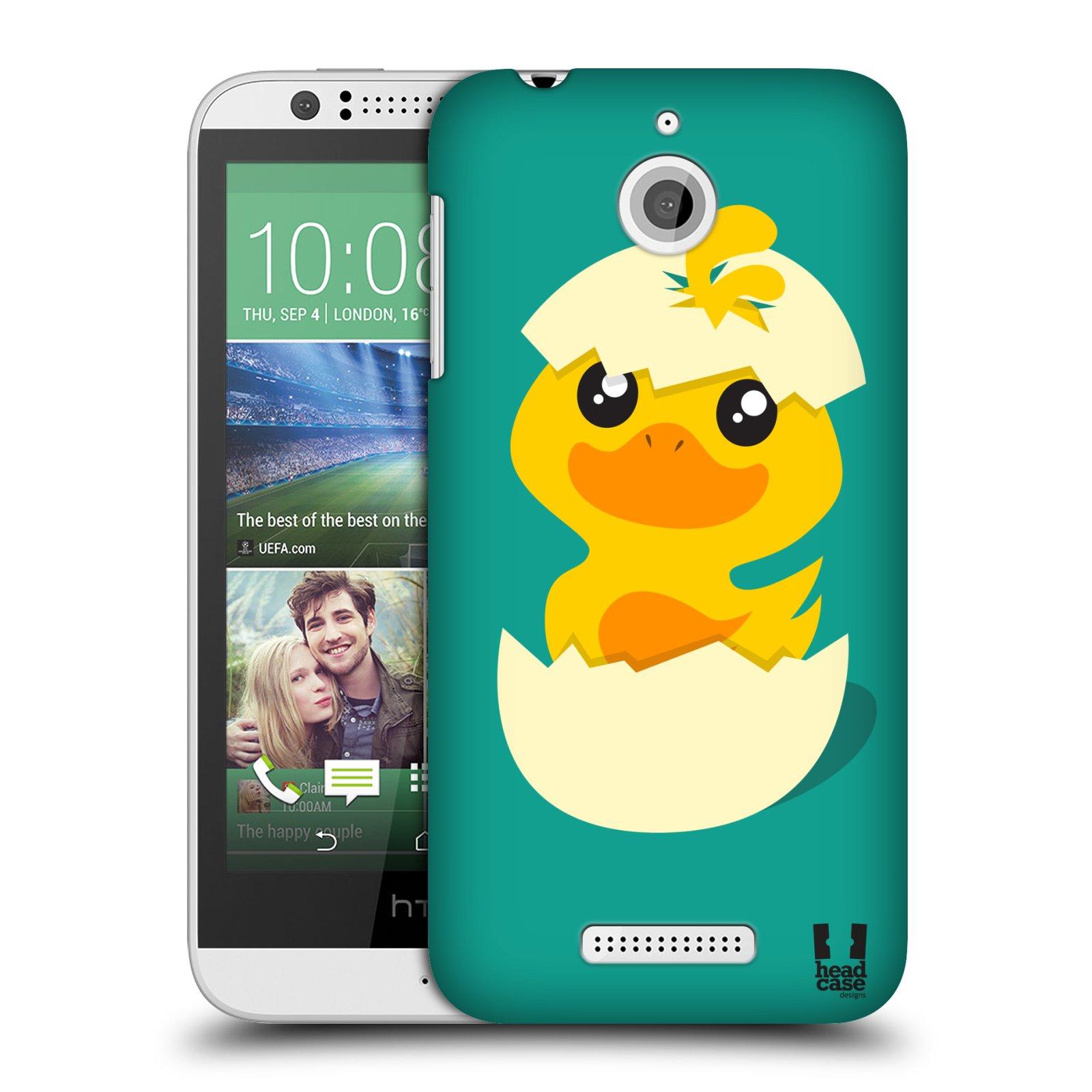 Plastové pouzdro na mobil HTC Desire 510 HEAD CASE KACHNIČKA Z VAJÍČKA