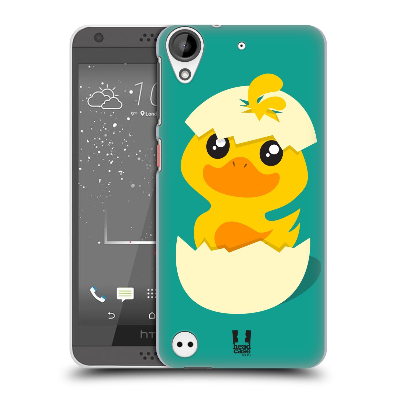 Plastové pouzdro na mobil HTC Desire 530 HEAD CASE KACHNIČKA Z VAJÍČKA