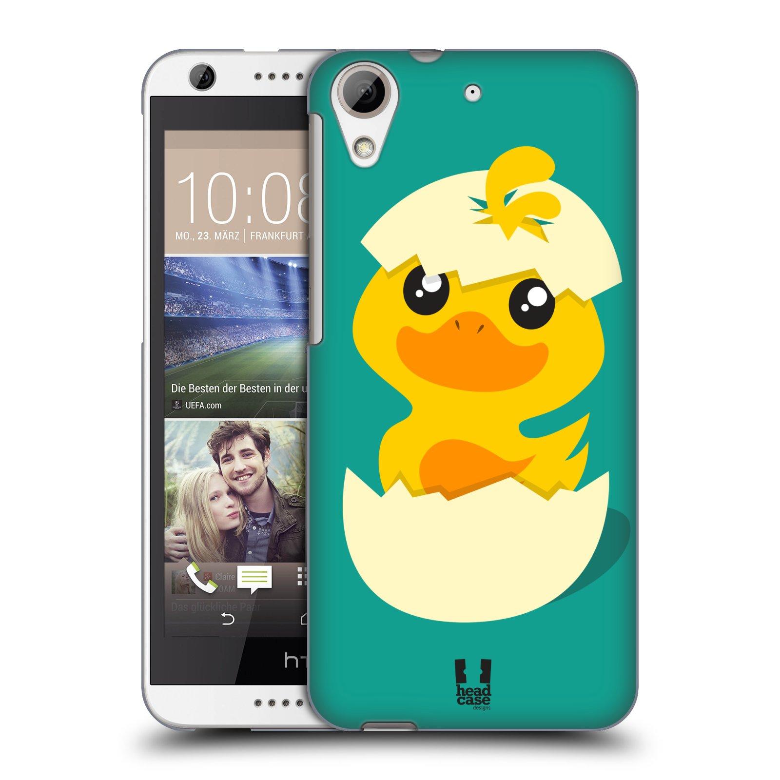 Plastové pouzdro na mobil HTC Desire 626 / 626G HEAD CASE KACHNIČKA Z VAJÍČKA
