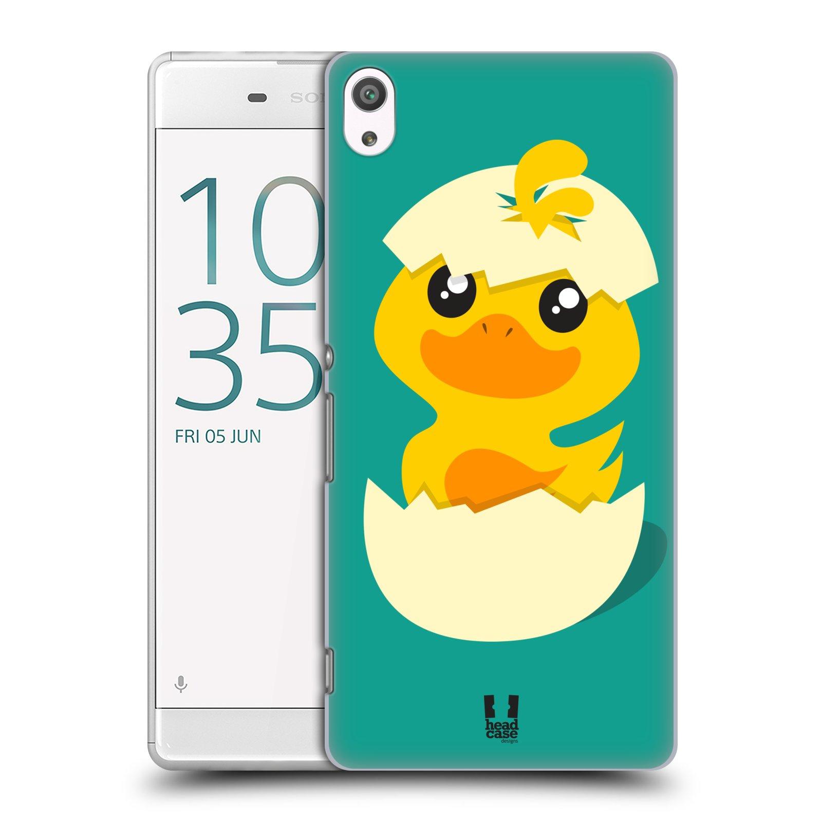 Plastové pouzdro na mobil Sony Xperia XA Ultra HEAD CASE KACHNIČKA Z VAJÍČKA (Plastový kryt či obal na mobilní telefon Sony Xperia XA Ultra F3211)