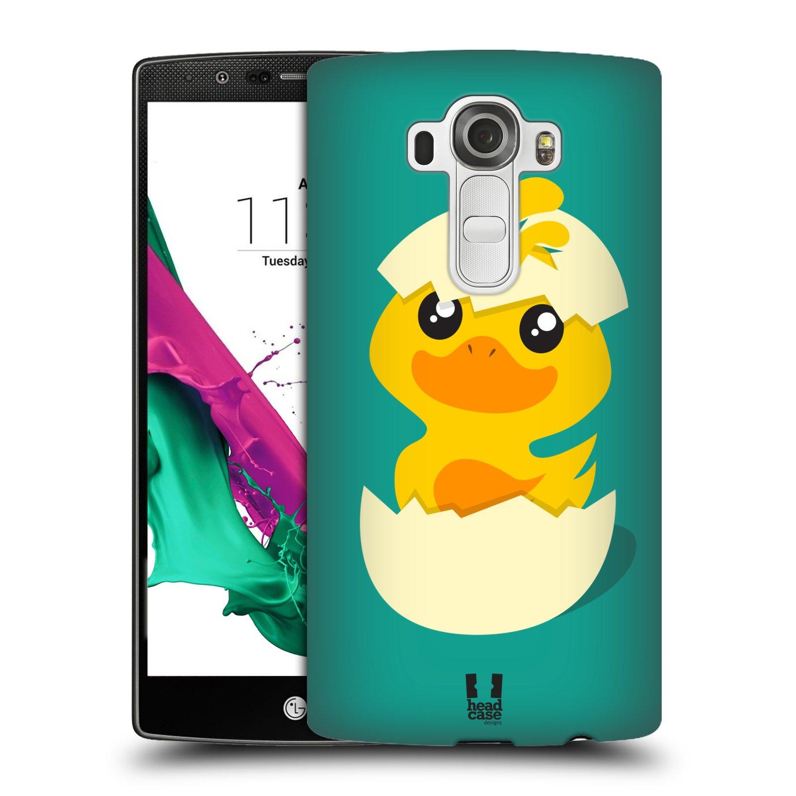 Plastové pouzdro na mobil LG G4 HEAD CASE KACHNIČKA Z VAJÍČKA (Kryt či obal na mobilní telefon LG G4 H815)