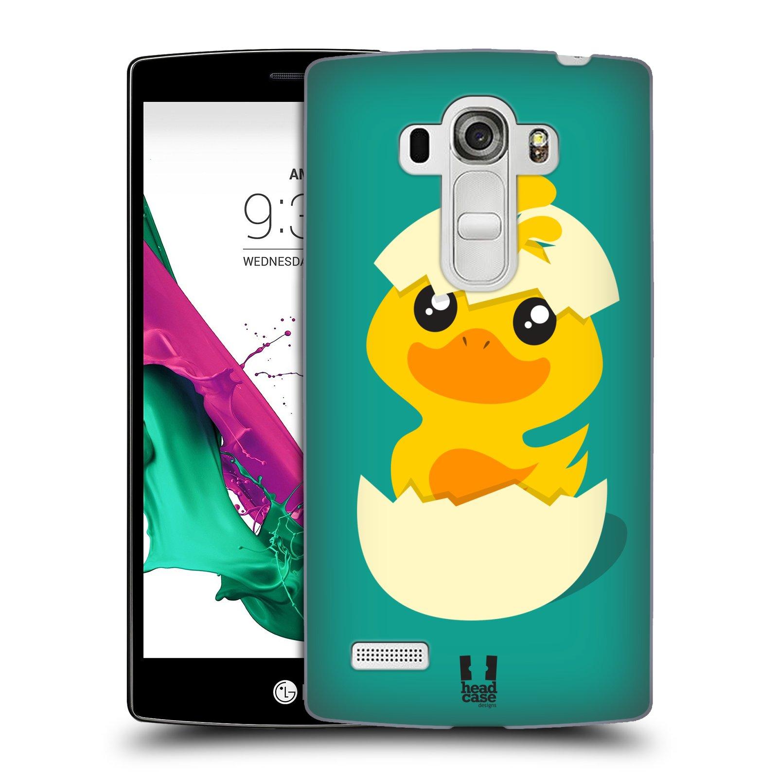 Plastové pouzdro na mobil LG G4s HEAD CASE KACHNIČKA Z VAJÍČKA (Kryt či obal na mobilní telefon LG G4s H735n)