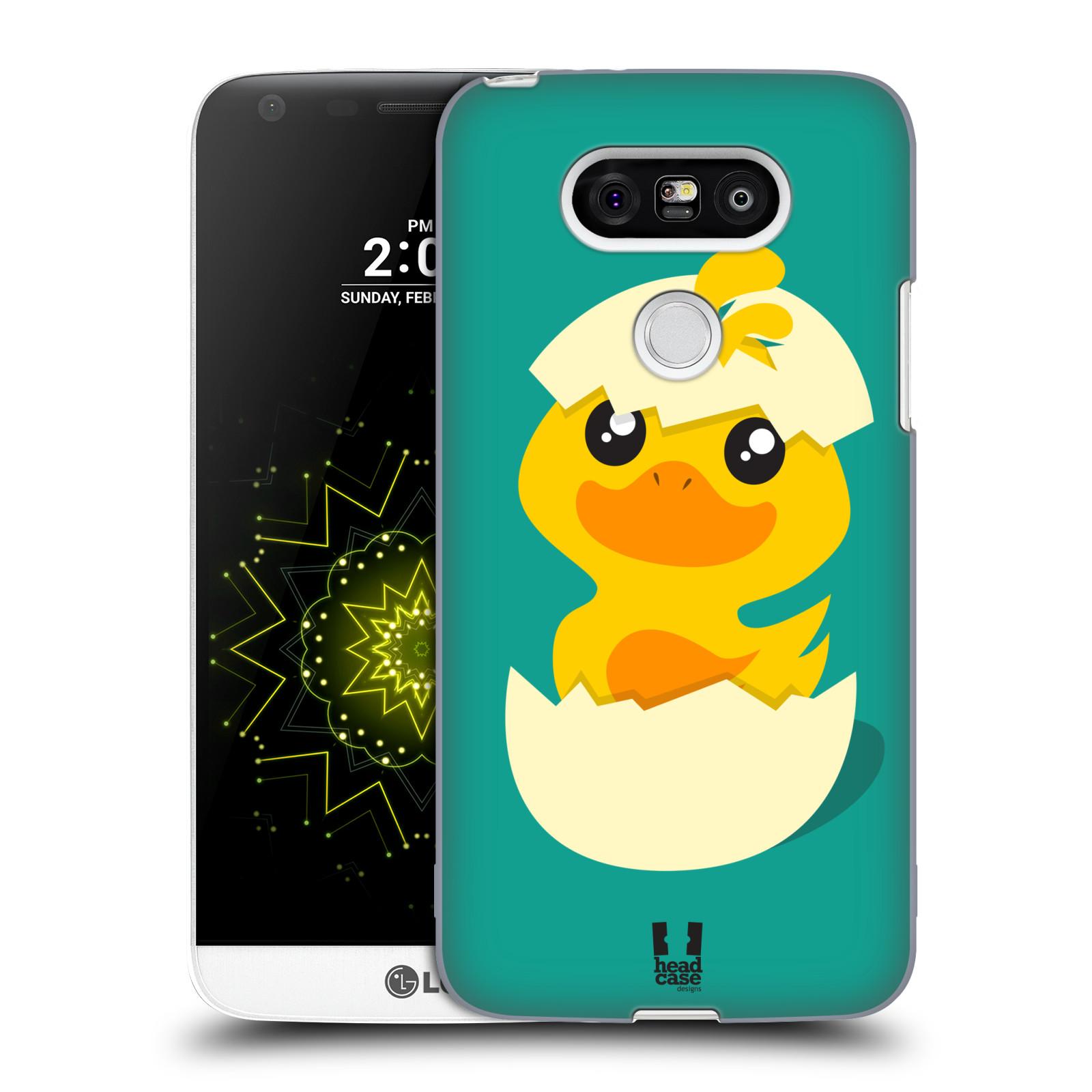 Plastové pouzdro na mobil LG G5 HEAD CASE KACHNIČKA Z VAJÍČKA (Kryt či obal na mobilní telefon LG G5 H850)