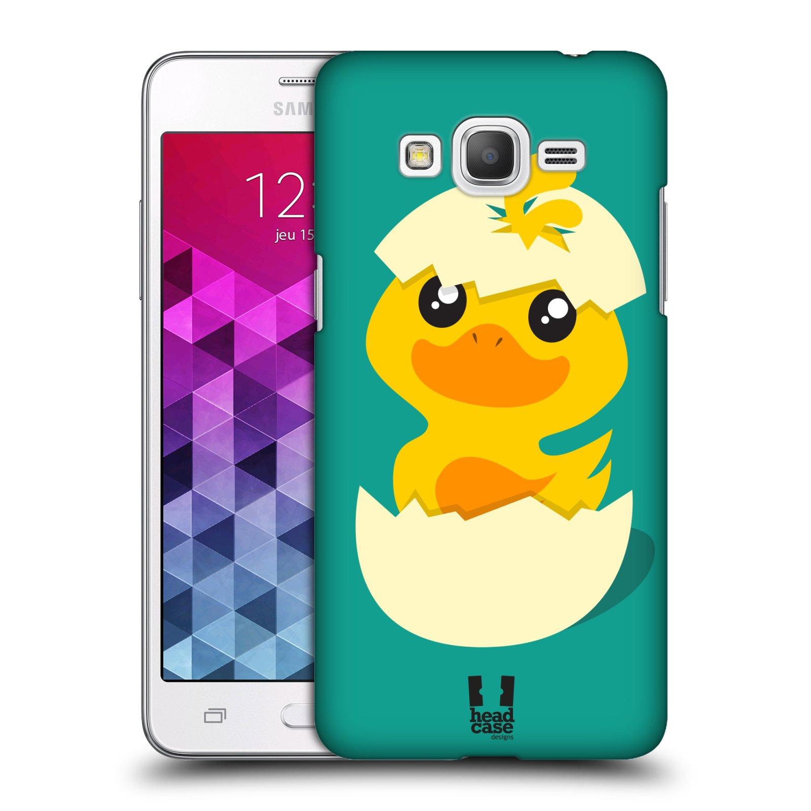 Plastové pouzdro na mobil Samsung Galaxy Grand Prime VE HEAD CASE KACHNIČKA Z VAJÍČKA (Kryt či obal na mobilní telefon Samsung Galaxy Grand Prime VE SM-G531F)