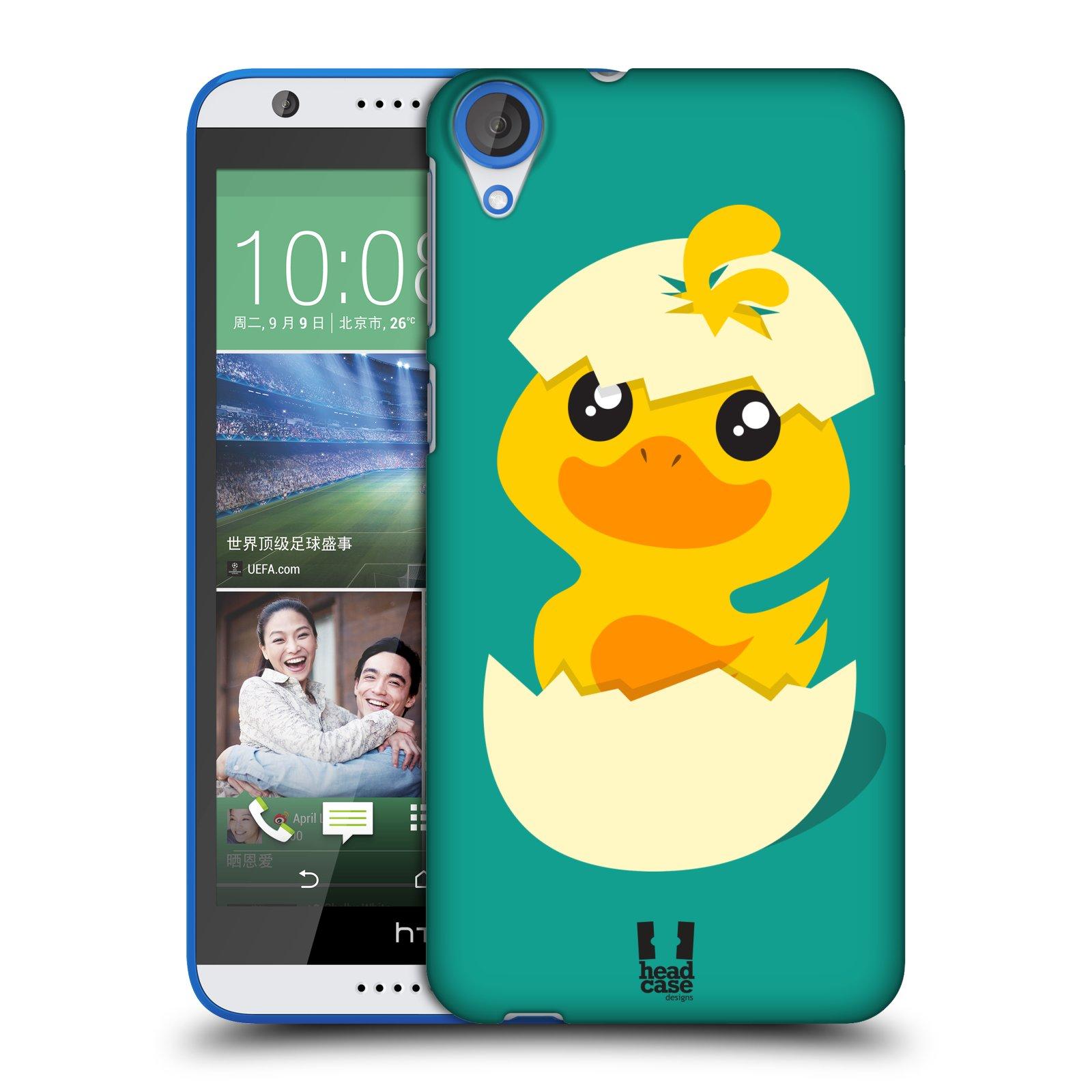 Plastové pouzdro na mobil HTC Desire 820 HEAD CASE KACHNIČKA Z VAJÍČKA (Kryt či obal na mobilní telefon HTC Desire 820)