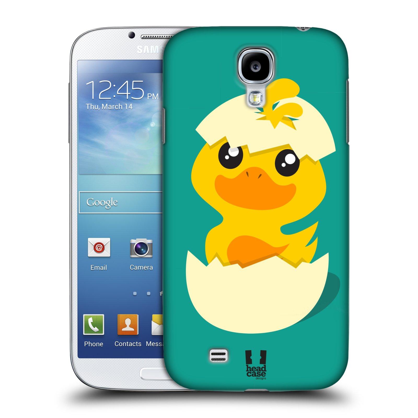 Plastové pouzdro na mobil Samsung Galaxy S4 HEAD CASE KACHNIČKA Z VAJÍČKA (Kryt či obal na mobilní telefon Samsung Galaxy S4 GT-i9505 / i9500)
