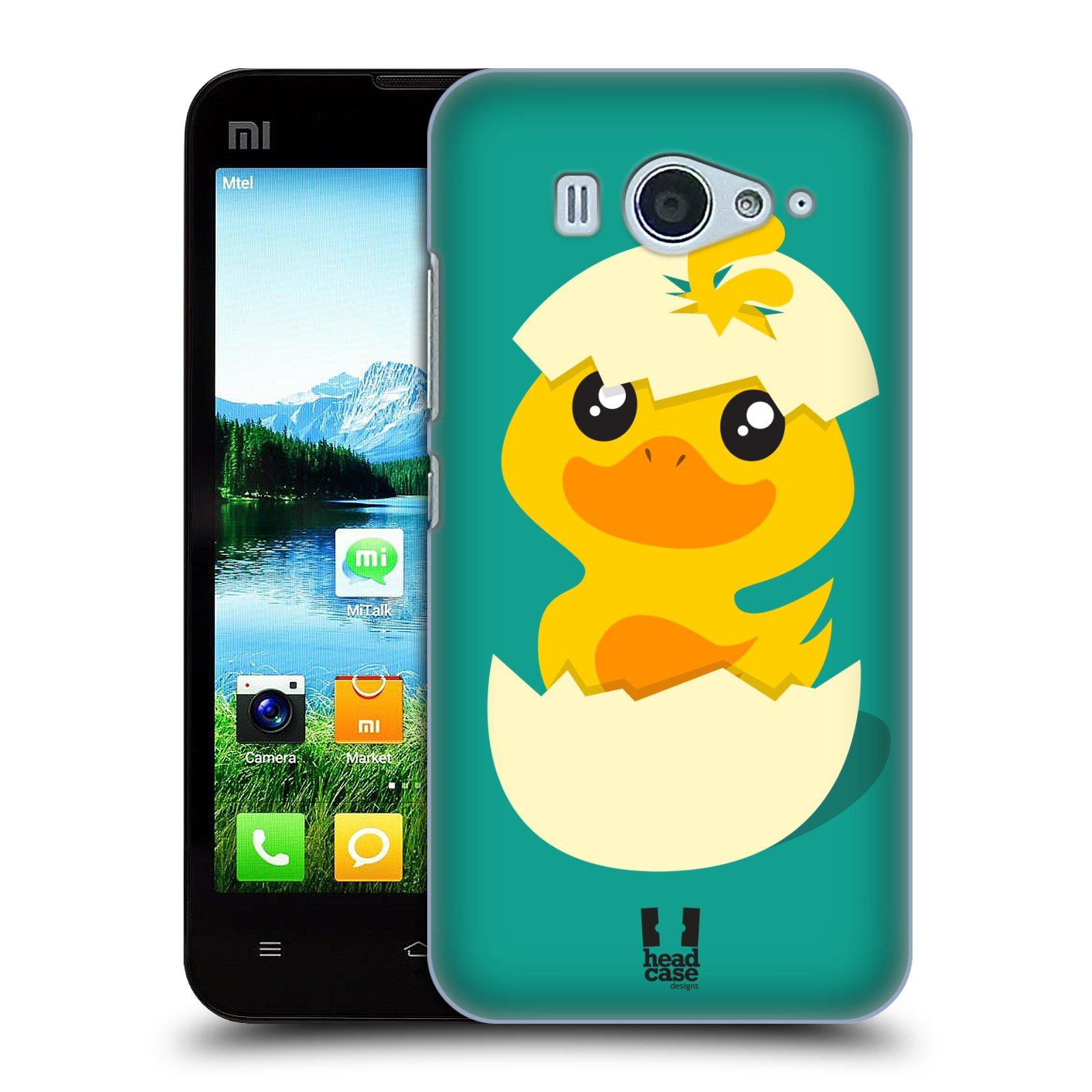 Plastové pouzdro na mobil Xiaomi Mi2S HEAD CASE KACHNIČKA Z VAJÍČKA (Kryt či obal na mobilní telefon Xiaomi Mi2S)