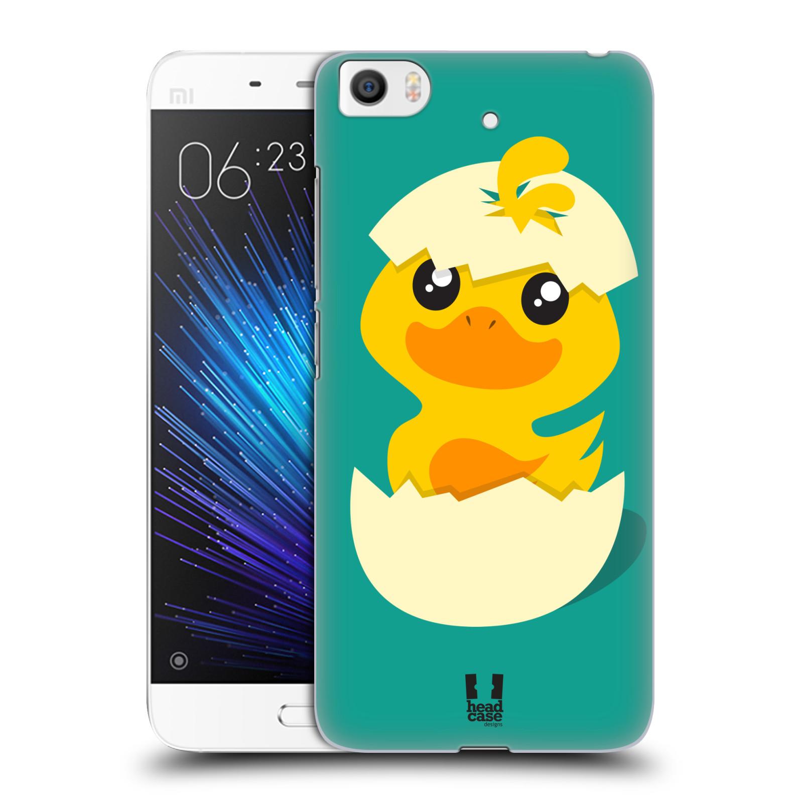 Plastové pouzdro na mobil Xiaomi Mi5s - Head Case KACHNIČKA Z VAJÍČKA (Plastový kryt či obal na mobilní telefon Xiaomi Mi5s)