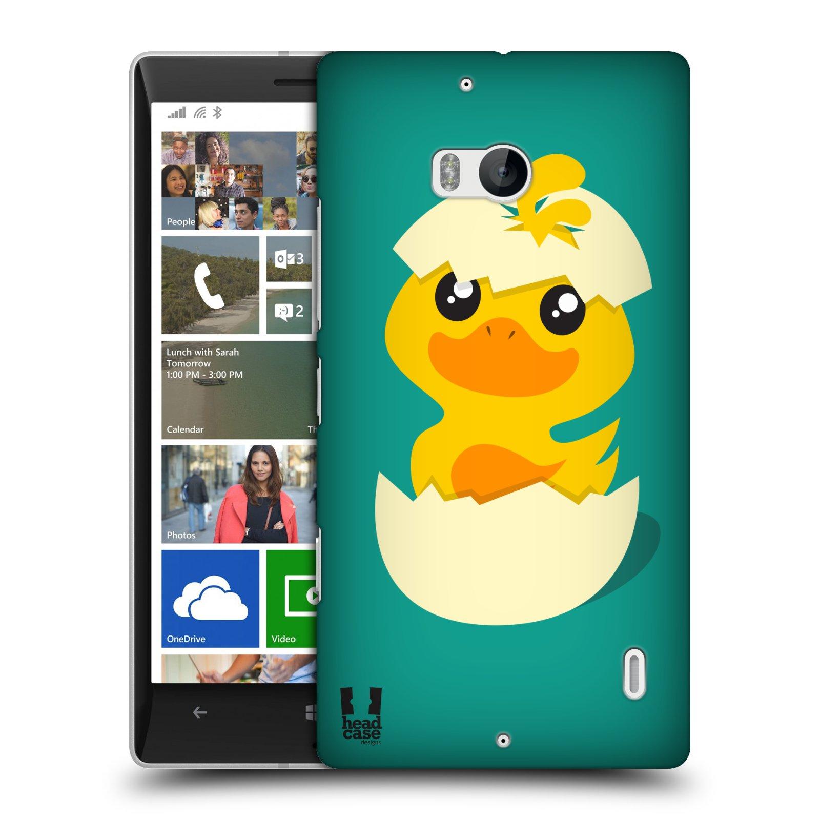 Pouzdro na mobil Nokia Lumia 930 HEAD CASE KACHNIČKA Z VAJÍČKA (Kryt či obal na mobilní telefon Nokia Lumia 930)