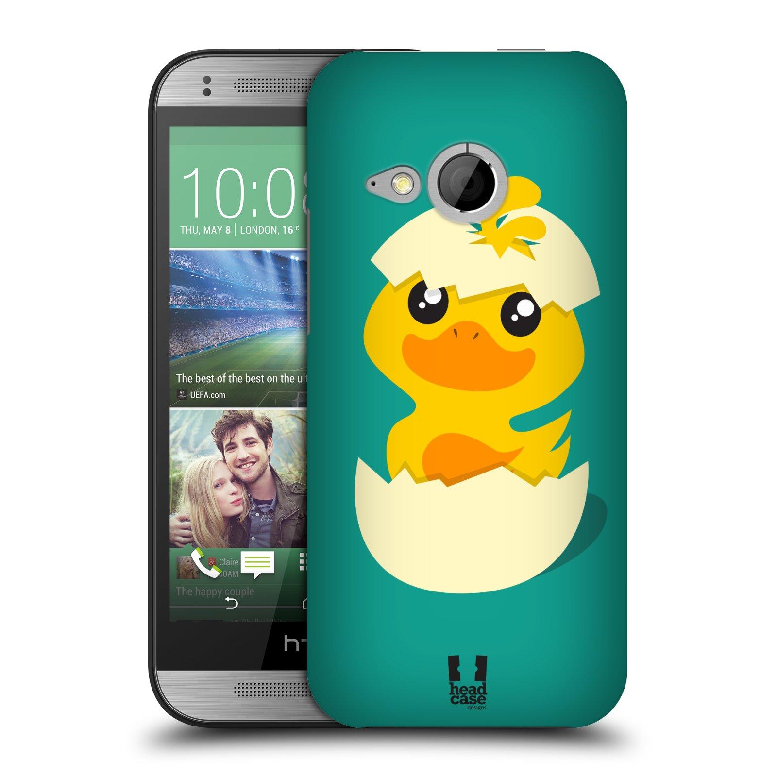 Plastové pouzdro na mobil HTC ONE Mini 2 HEAD CASE KACHNIČKA Z VAJÍČKA (Kryt či obal na mobilní telefon HTC ONE Mini 2)