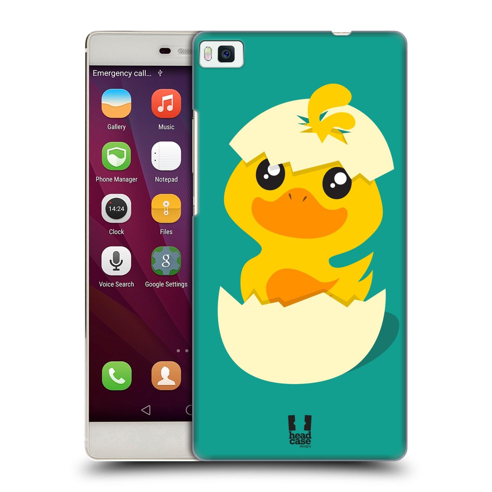 Plastové pouzdro na mobil Huawei P8 HEAD CASE KACHNIČKA Z VAJÍČKA (Kryt či obal na mobilní telefon Huawei Ascend P8)