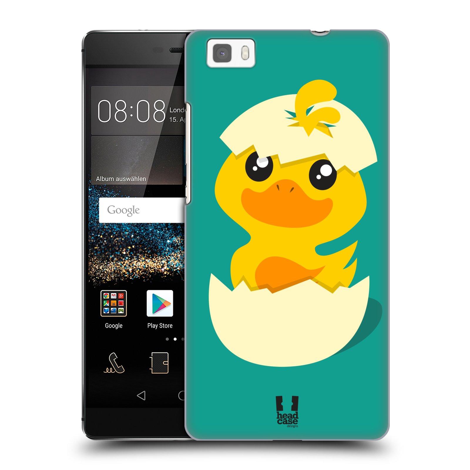 Plastové pouzdro na mobil Huawei P8 Lite HEAD CASE KACHNIČKA Z VAJÍČKA (Kryt či obal na mobilní telefon Huawei Ascend P8 Lite)