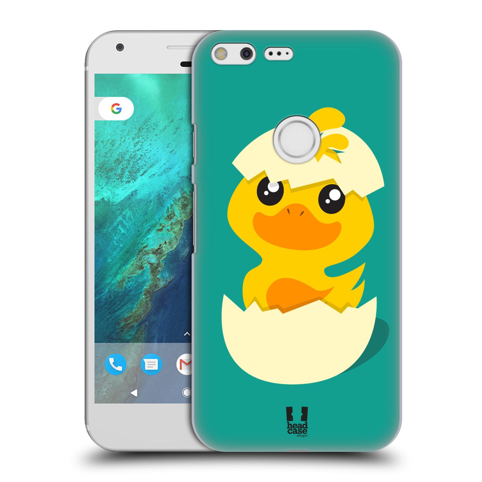 Plastové pouzdro na mobil Google Pixel XL HEAD CASE KACHNIČKA Z VAJÍČKA (Plastový kryt či obal na mobilní telefon Google Pixel XL)
