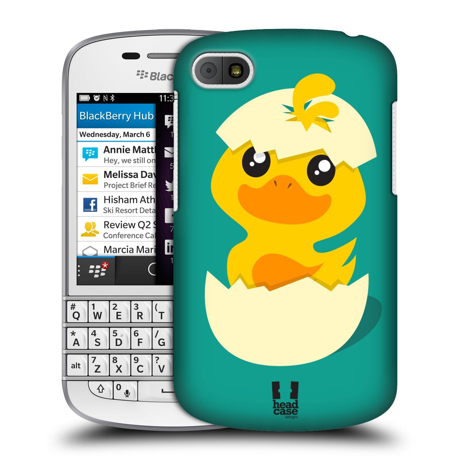 Plastové pouzdro na mobil Blackberry Q10 HEAD CASE KACHNIČKA Z VAJÍČKA (Kryt či obal na mobilní telefon Blackberry Q10)