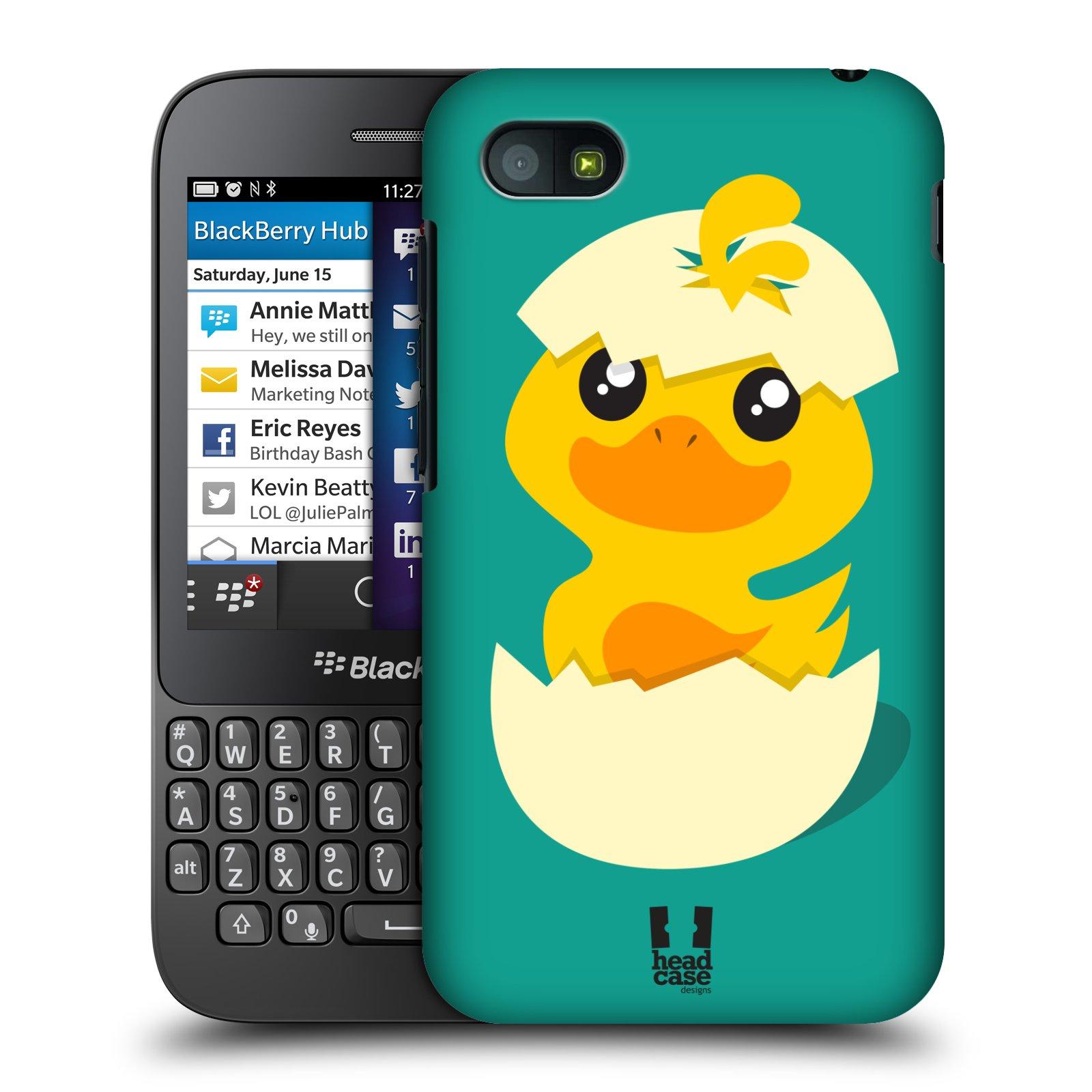 Plastové pouzdro na mobil Blackberry Q5 HEAD CASE KACHNIČKA Z VAJÍČKA (Kryt či obal na mobilní telefon Blackberry Q5)