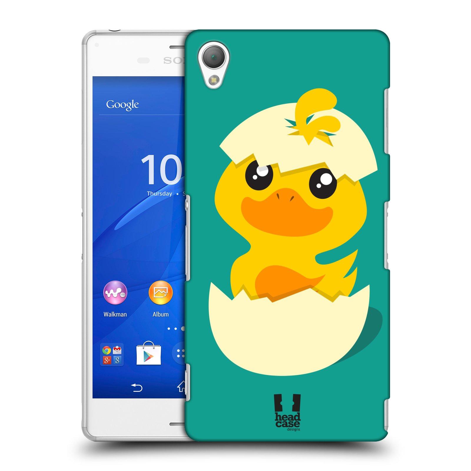 Plastové pouzdro na mobil Sony Xperia Z3 D6603 HEAD CASE KACHNIČKA Z VAJÍČKA (Kryt či obal na mobilní telefon Sony Xperia Z3 )