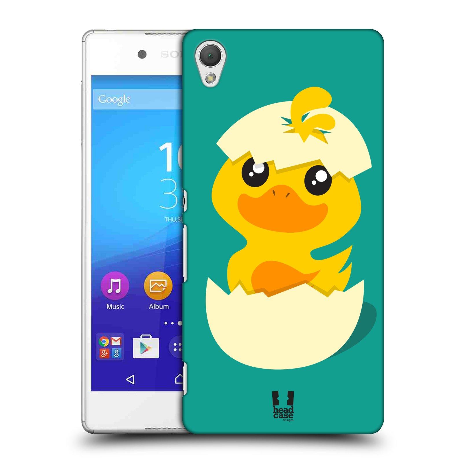 Plastové pouzdro na mobil Sony Xperia Z3+ (Plus) HEAD CASE KACHNIČKA Z VAJÍČKA (Plastový kryt či obal na mobilní telefon Sony Xperia Z3+ (Plus))