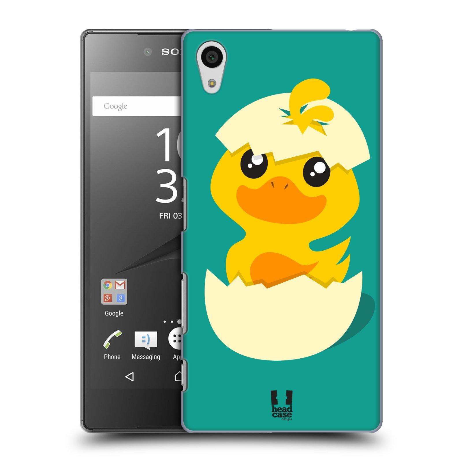 Plastové pouzdro na mobil Sony Xperia Z5 HEAD CASE KACHNIČKA Z VAJÍČKA (Kryt či obal na mobilní telefon Sony Xperia Z5 E6653)
