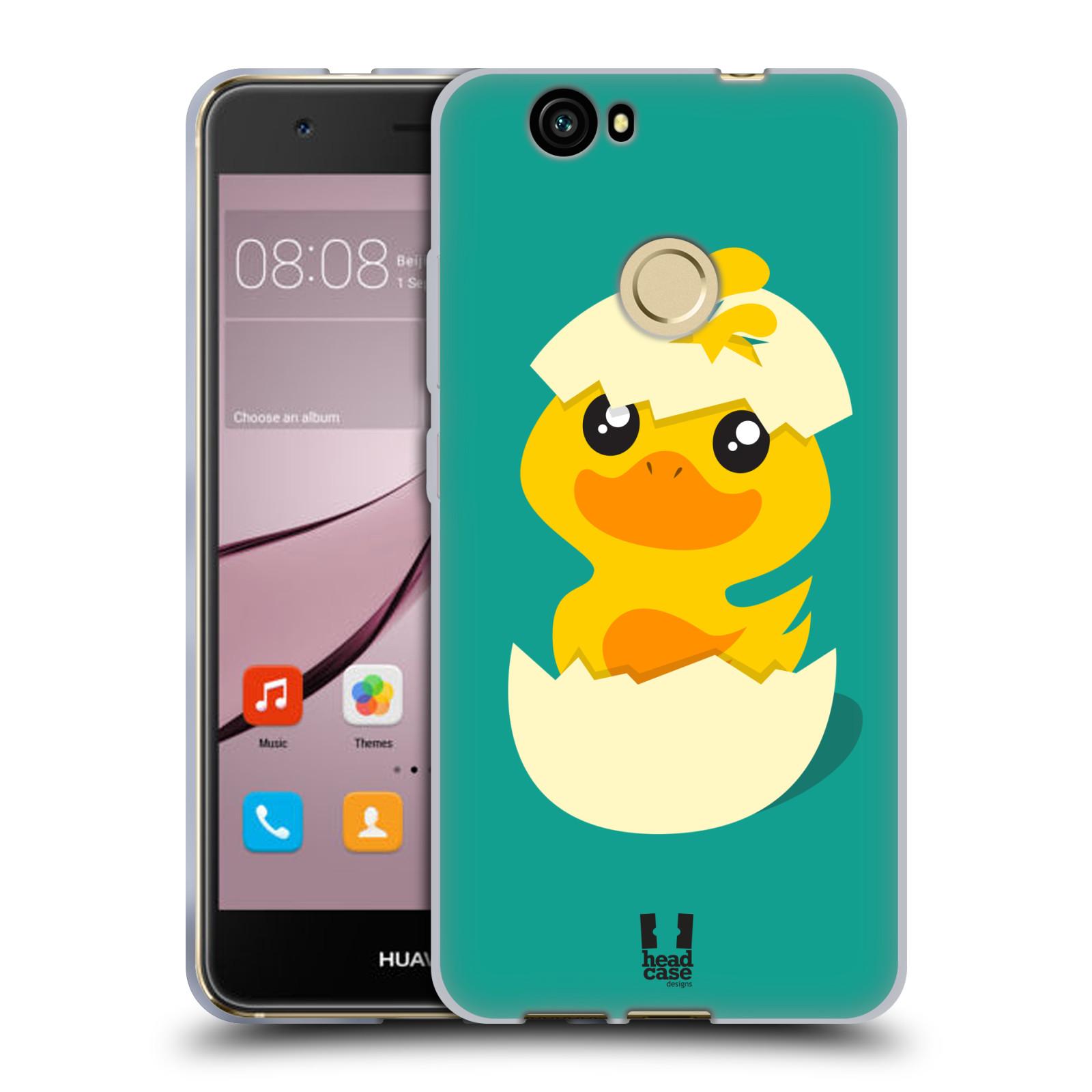 Silikonové pouzdro na mobil Huawei Nova - Head Case - KACHNIČKA Z VAJÍČKA (Silikonový kryt či obal na mobilní telefon Huawei Nova)