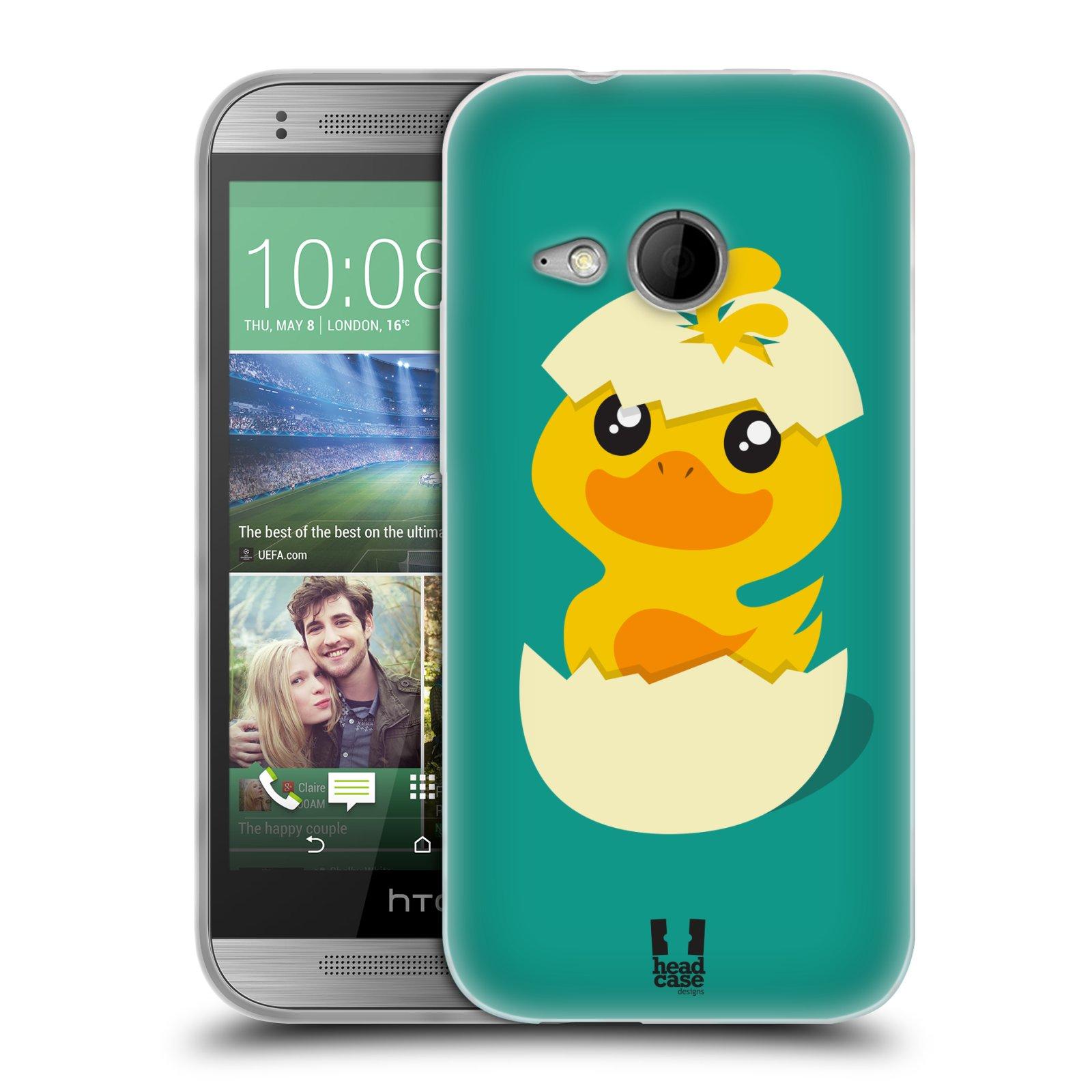 Silikonové pouzdro na mobil HTC ONE Mini 2 HEAD CASE KACHNIČKA Z VAJÍČKA (Silikonový kryt či obal na mobilní telefon HTC ONE Mini 2)