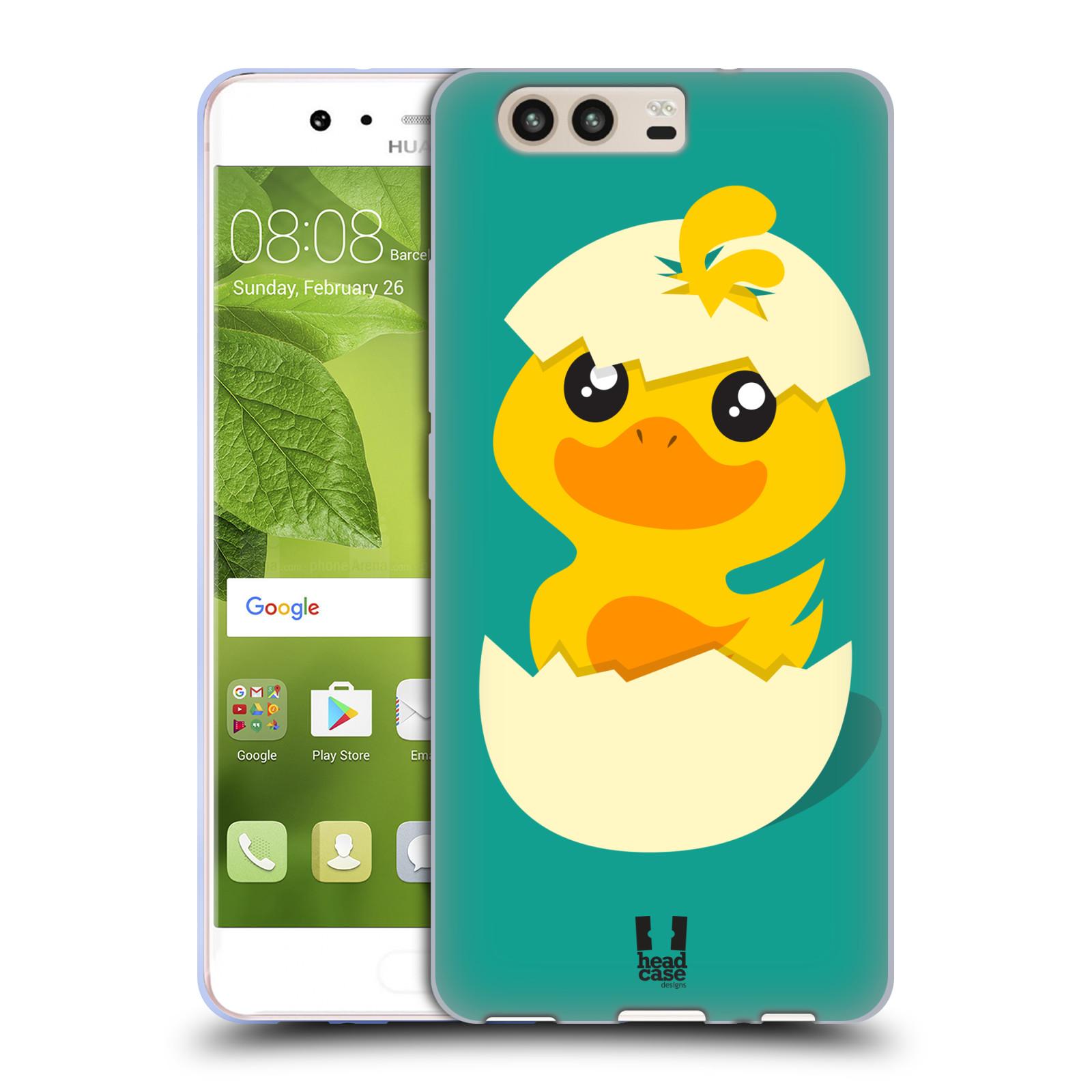 Silikonové pouzdro na mobil Huawei P10 - Head Case - KACHNIČKA Z VAJÍČKA (Silikonový kryt či obal na mobilní telefon Huawei P10)