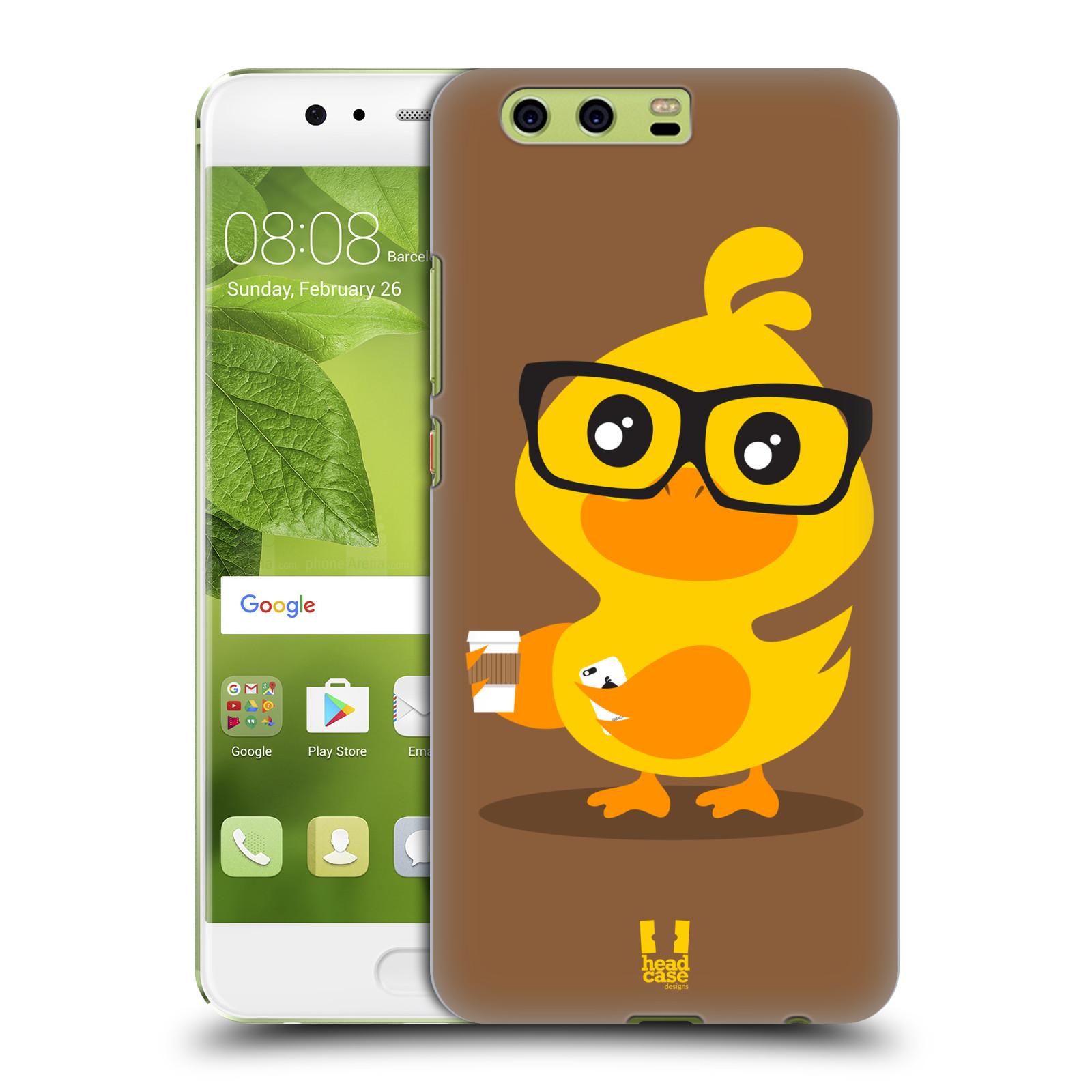 Plastové pouzdro na mobil Huawei P10 Plus - Head Case KACHNIČKA HIPSTERKA