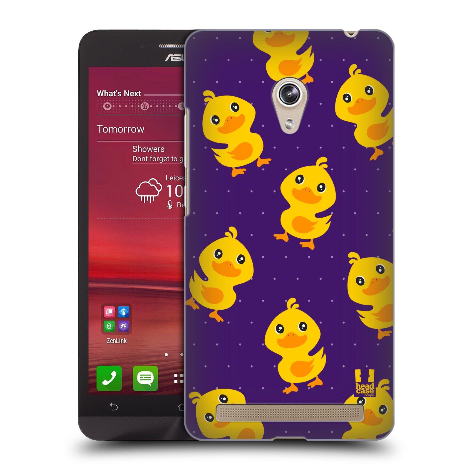 Plastové pouzdro na mobil Asus Zenfone 6 HEAD CASE KACHNIČKY VŠUDE (Kryt či obal na mobilní telefon Asus Zenfone 6 A600CG / A601CG)