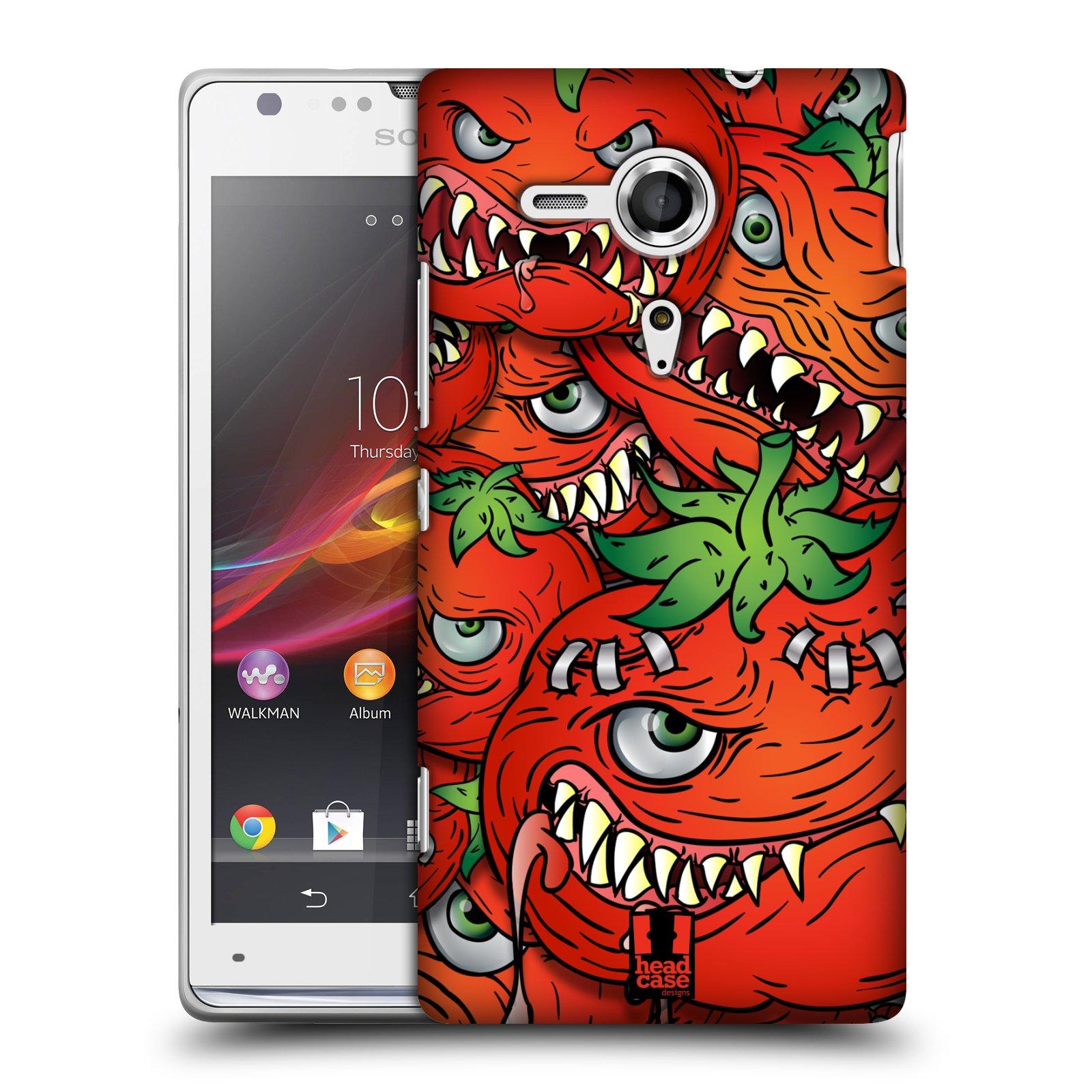 Plastové pouzdro na mobil Sony Xperia SP C5303 HEAD CASE Rajčátka (Kryt či obal na mobilní telefon Sony Xperia SP )