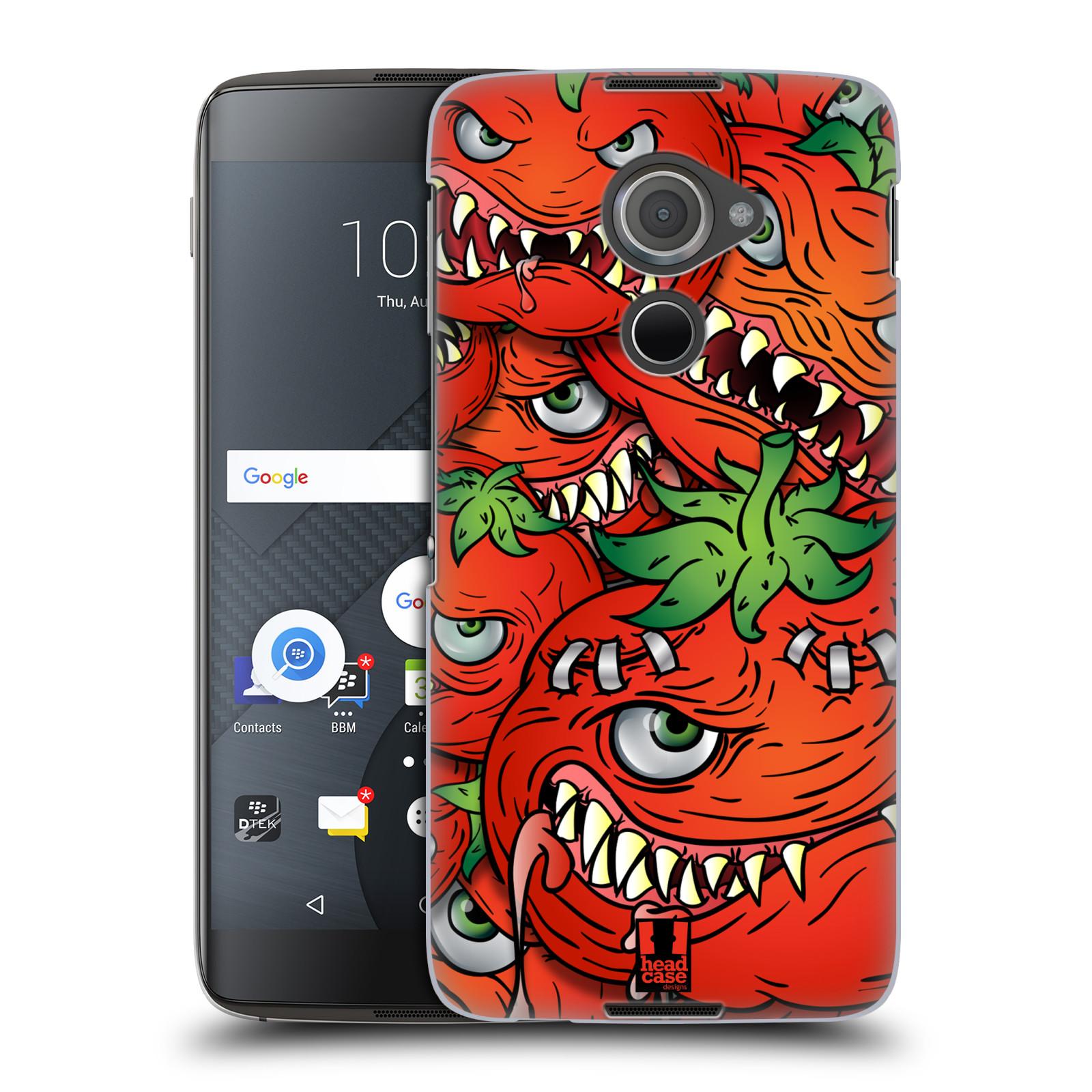 Plastové pouzdro na mobil Blackberry DTEK60 (Argon) - Head Case Rajčátka (Plastový kryt či obal na mobilní telefon Blackberry DTEK60 (Argon))