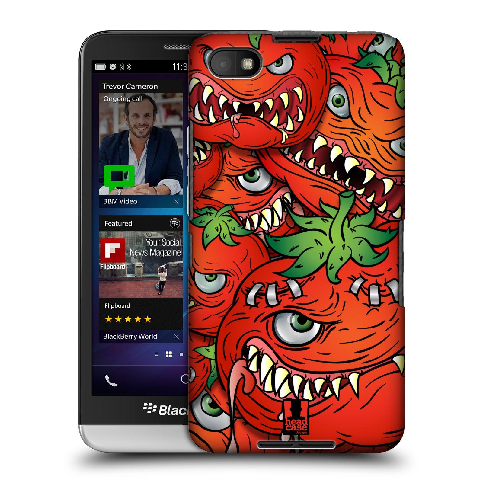 Plastové pouzdro na mobil Blackberry Z30 HEAD CASE Rajčátka (Kryt či obal na mobilní telefon Blackberry Z30)
