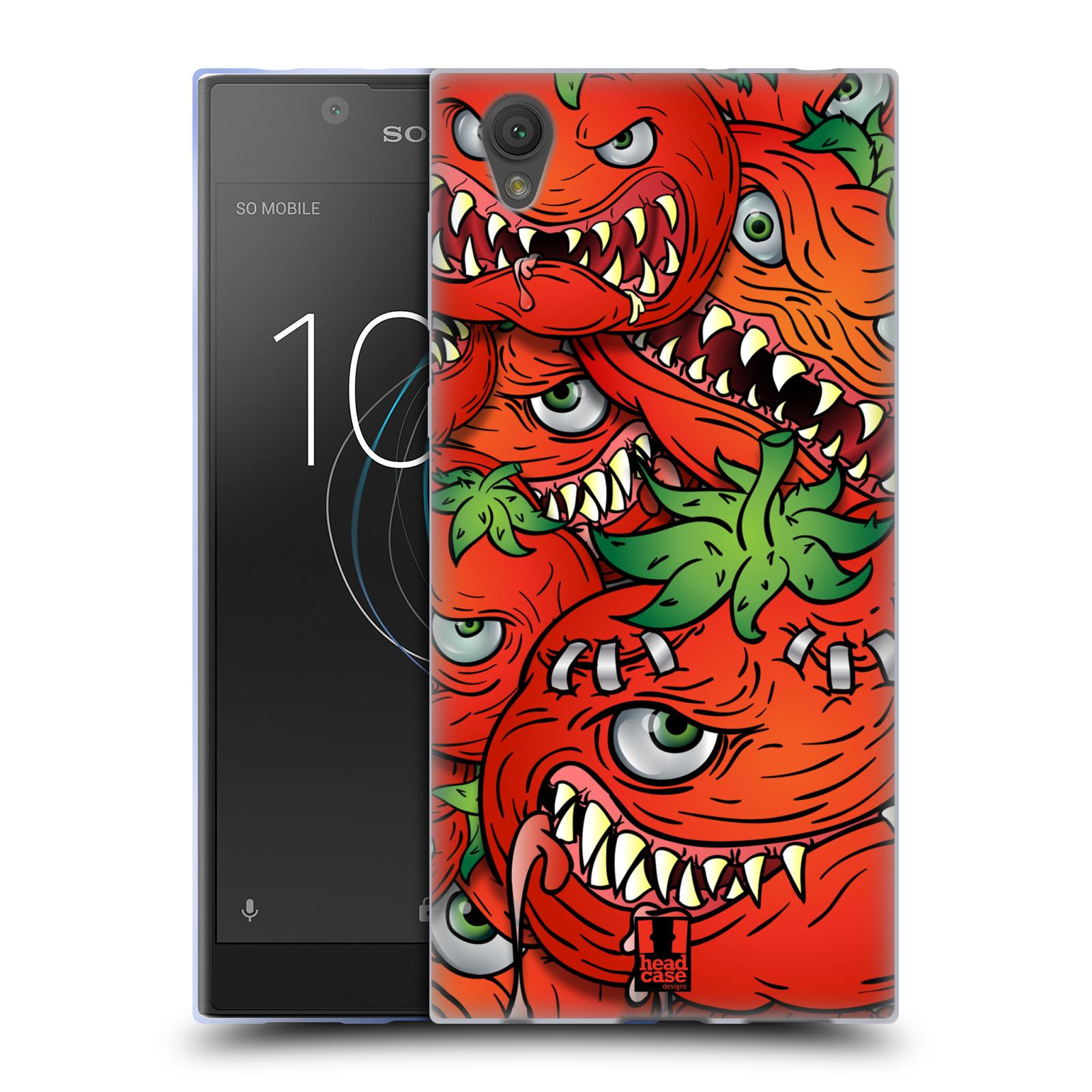 Silikonové pouzdro na mobil Sony Xperia L1 - Head Case - Rajčátka