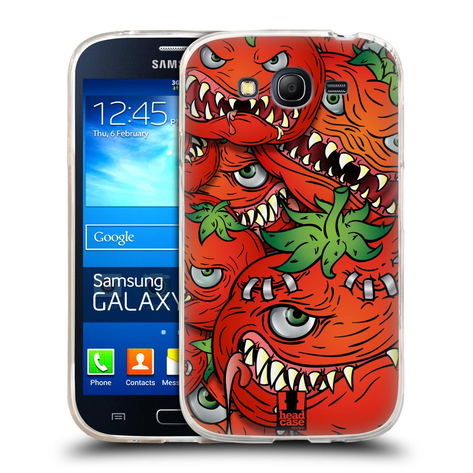 Silikonové pouzdro na mobil Samsung Galaxy Grand Neo Plus HEAD CASE Rajčátka (Silikonový kryt či obal na mobilní telefon Samsung Galaxy Grand Neo Plus Duos GT-I9060i)