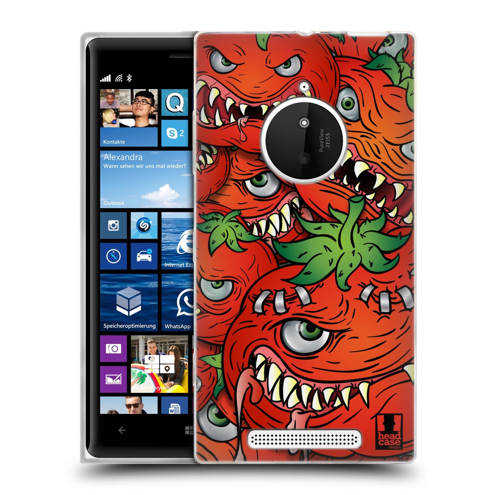 Silikonové pouzdro na mobil Nokia Lumia 830 HEAD CASE Rajčátka (Silikonový kryt či obal na mobilní telefon Nokia Lumia 830)