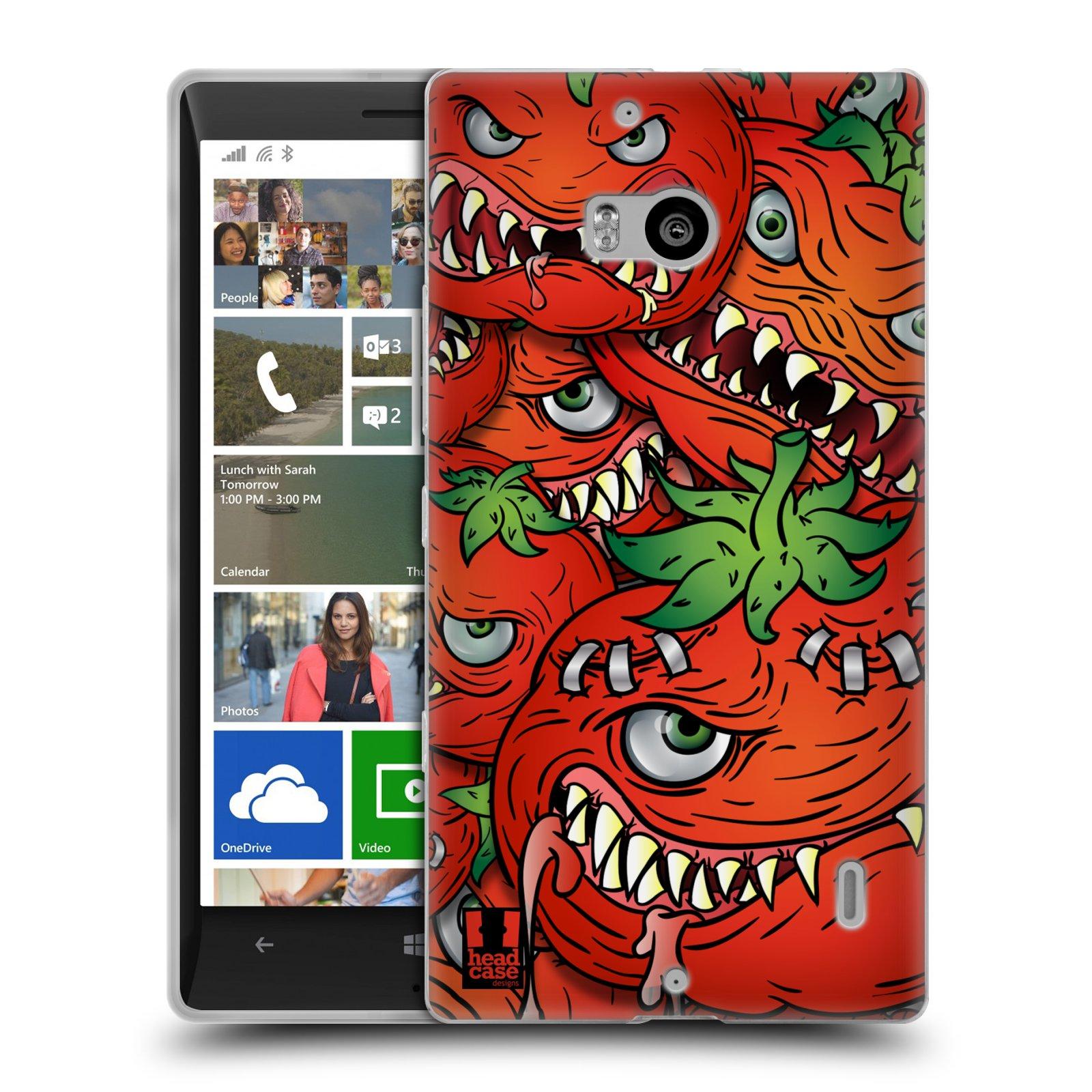 Silikonové pouzdro na mobil Nokia Lumia 930 HEAD CASE Rajčátka (Silikonový kryt či obal na mobilní telefon Nokia Lumia 930)