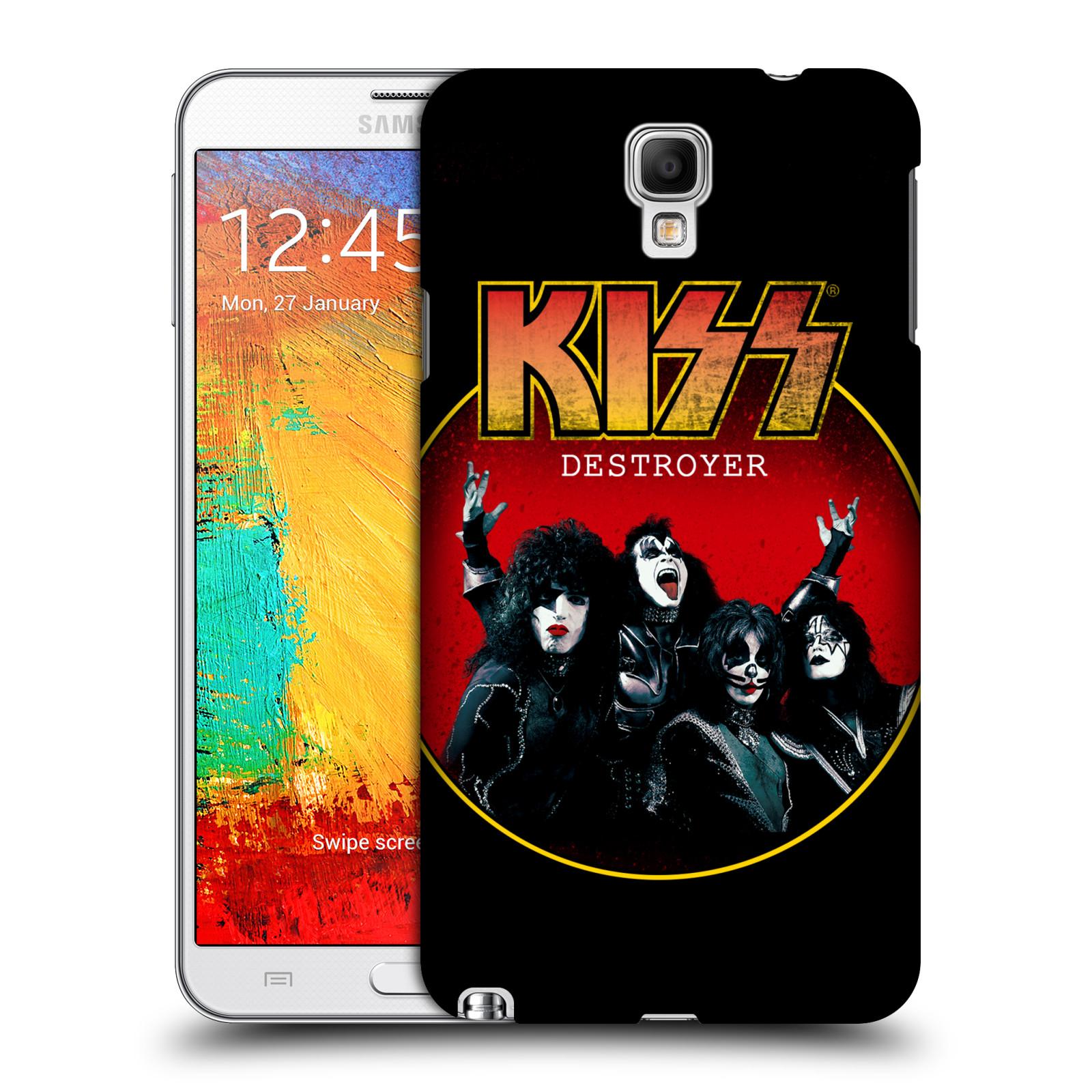 Plastové pouzdro na mobil Samsung Galaxy Note 3 Neo HEAD CASE - Kiss - Destroyer
