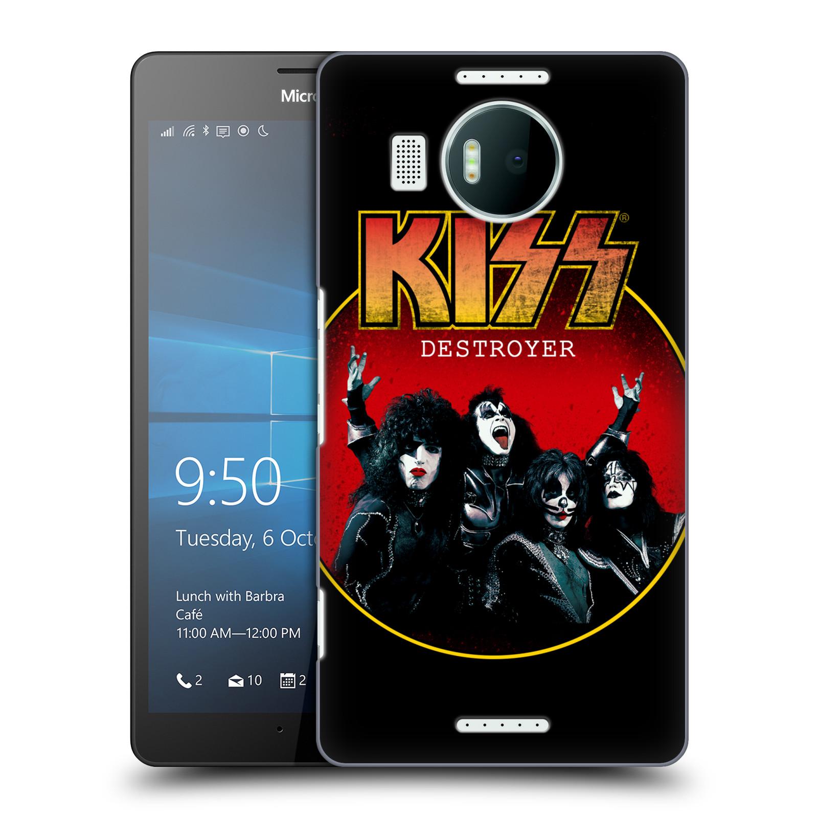 Plastové pouzdro na mobil Microsoft Lumia 950 XL HEAD CASE - Kiss - Destroyer