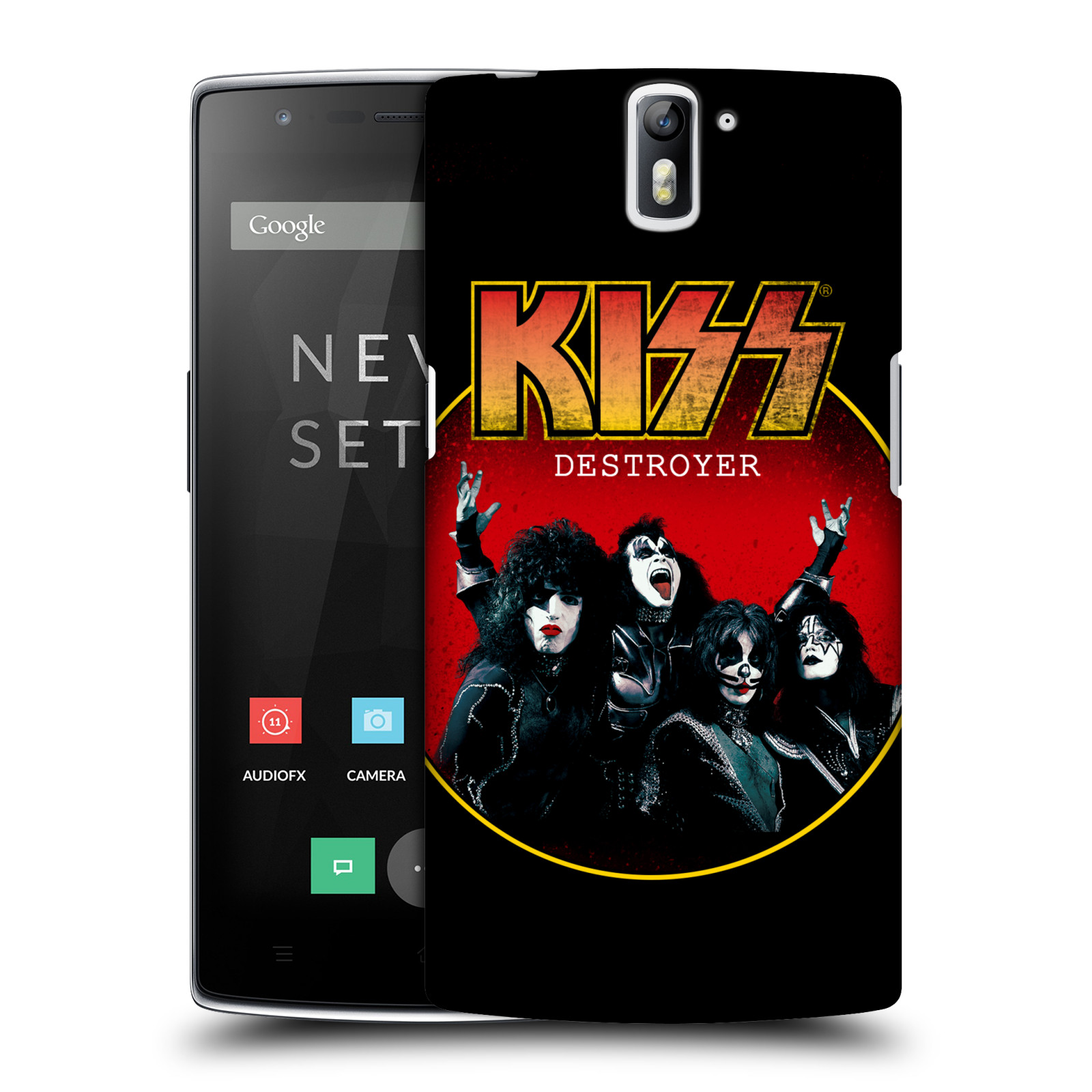 Plastové pouzdro na mobil OnePlus One HEAD CASE - Kiss - Destroyer