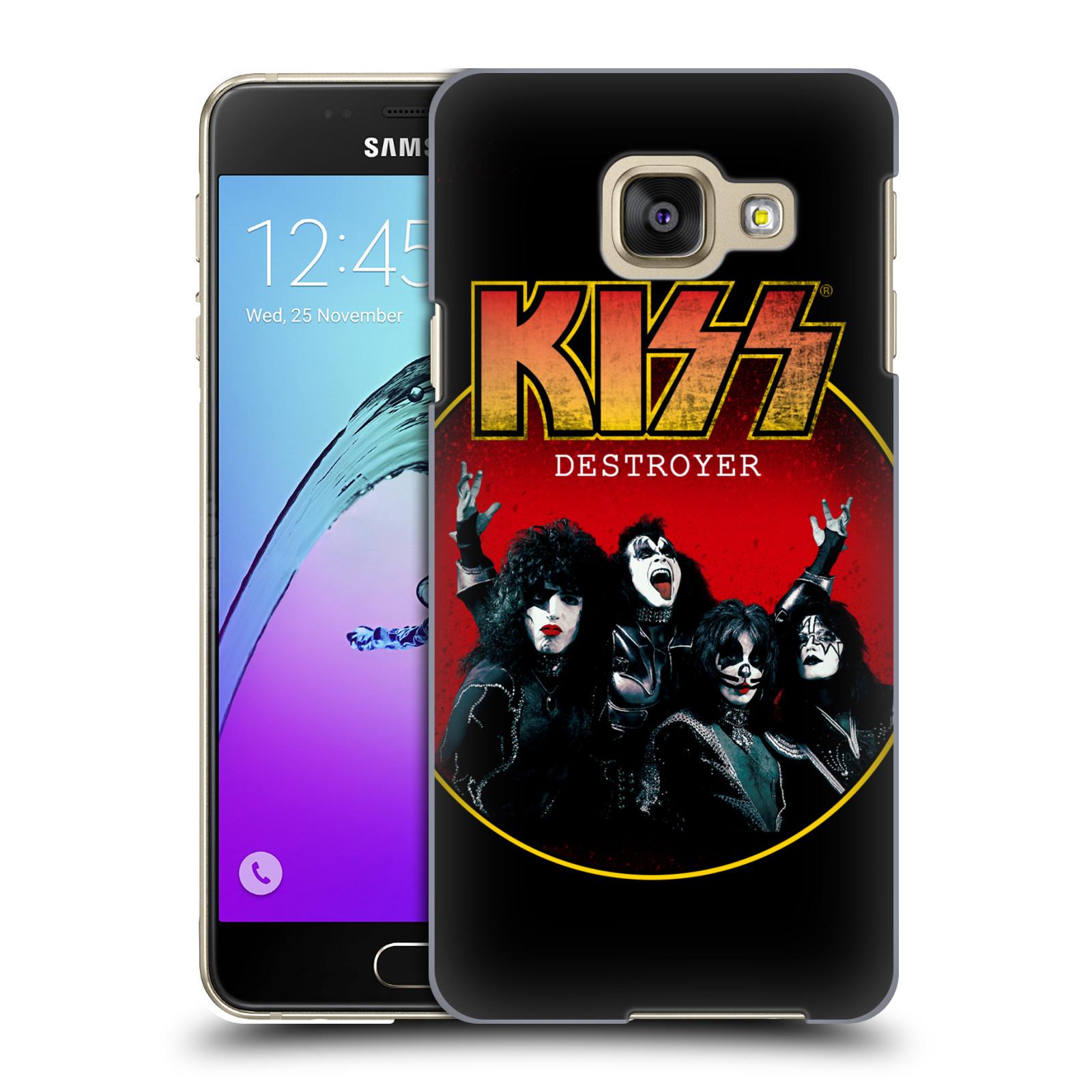 Plastové pouzdro na mobil Samsung Galaxy A3 (2016) HEAD CASE - Kiss - Destroyer