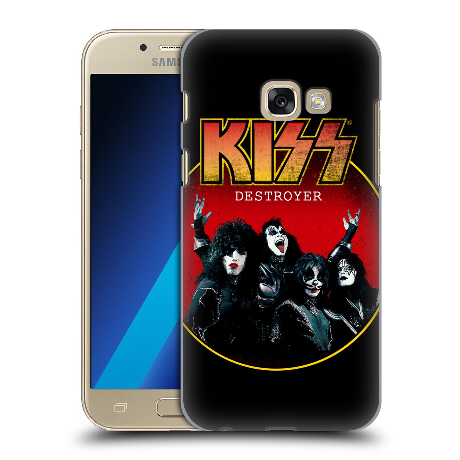 Plastové pouzdro na mobil Samsung Galaxy A3 (2017) HEAD CASE - Kiss - Destroyer