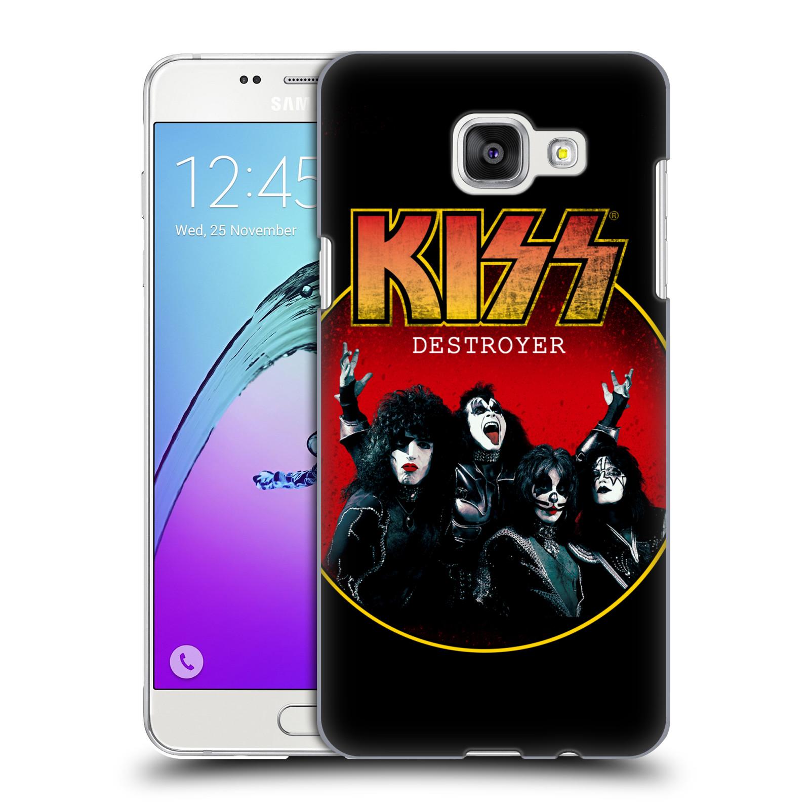 Plastové pouzdro na mobil Samsung Galaxy A5 (2016) HEAD CASE - Kiss - Destroyer